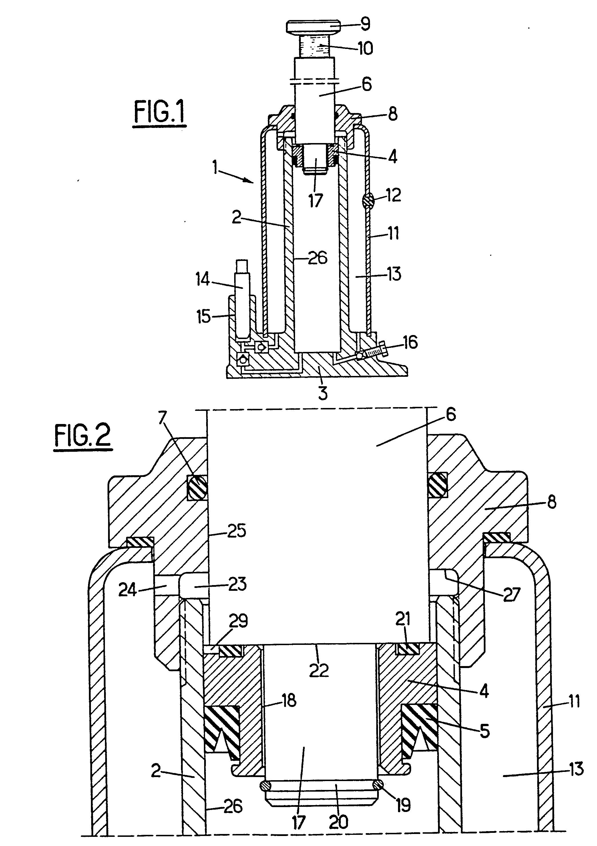 patent ep0182927b1 cric hydraulique limiteur de course perfectionn google patents. Black Bedroom Furniture Sets. Home Design Ideas