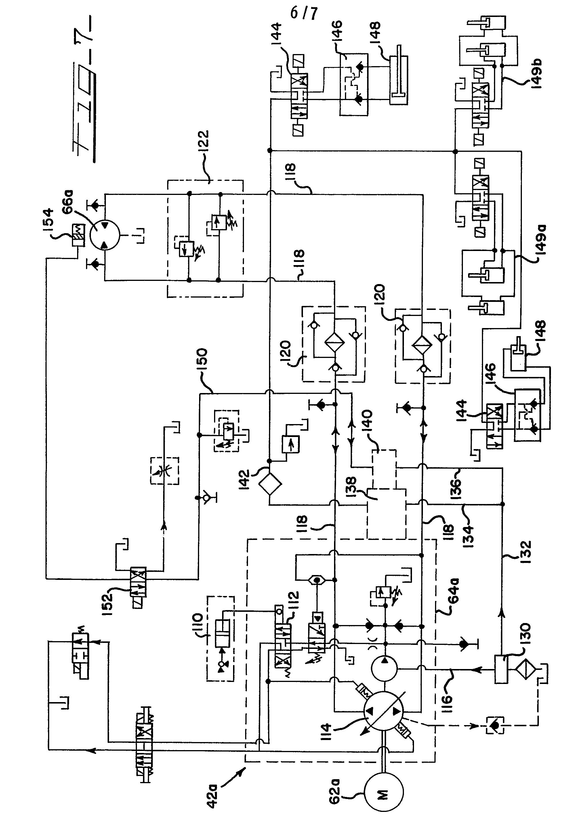 Hydraulic Motor Circuit Diagram Tractor Hydraulics Diagram