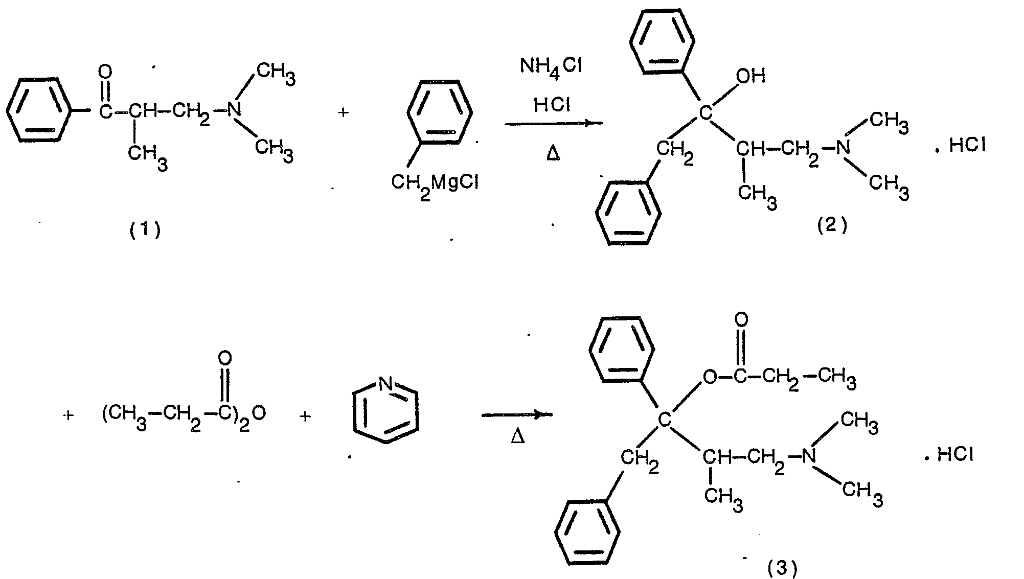 Image result for dextropropoxyphene SYNTHESIS