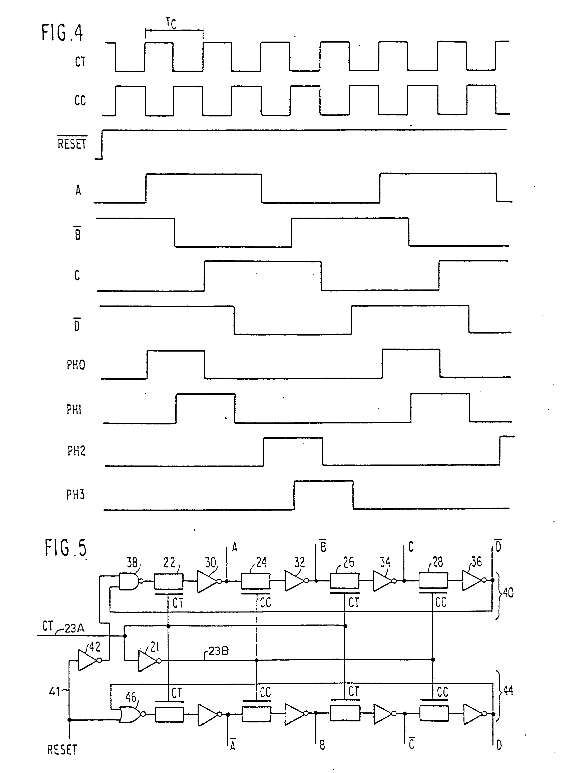 Patent EP A2 Double clock frequency timing signal