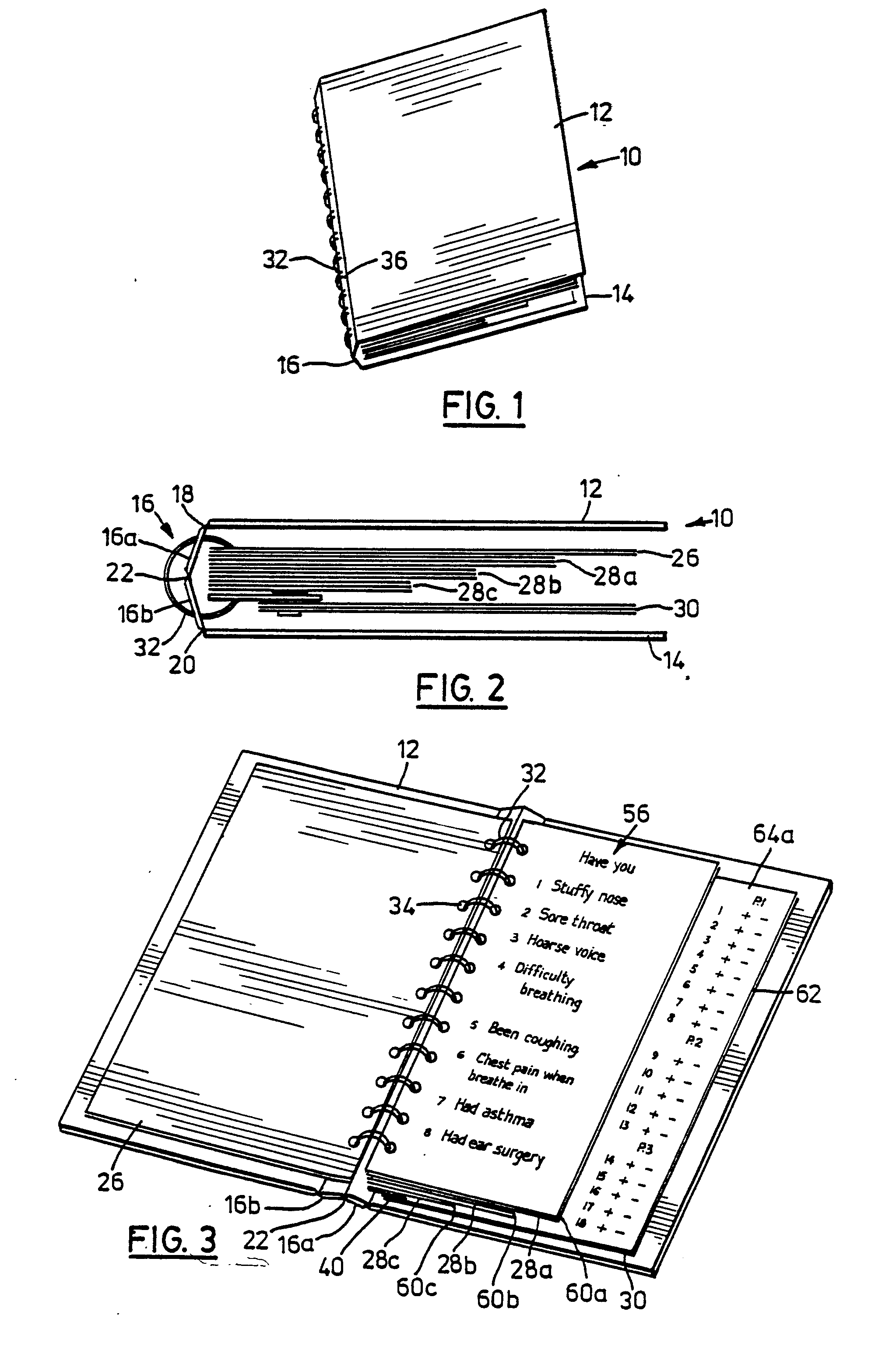 Patent Ep0239314a2 Bound Book With Bound Holder Carrying