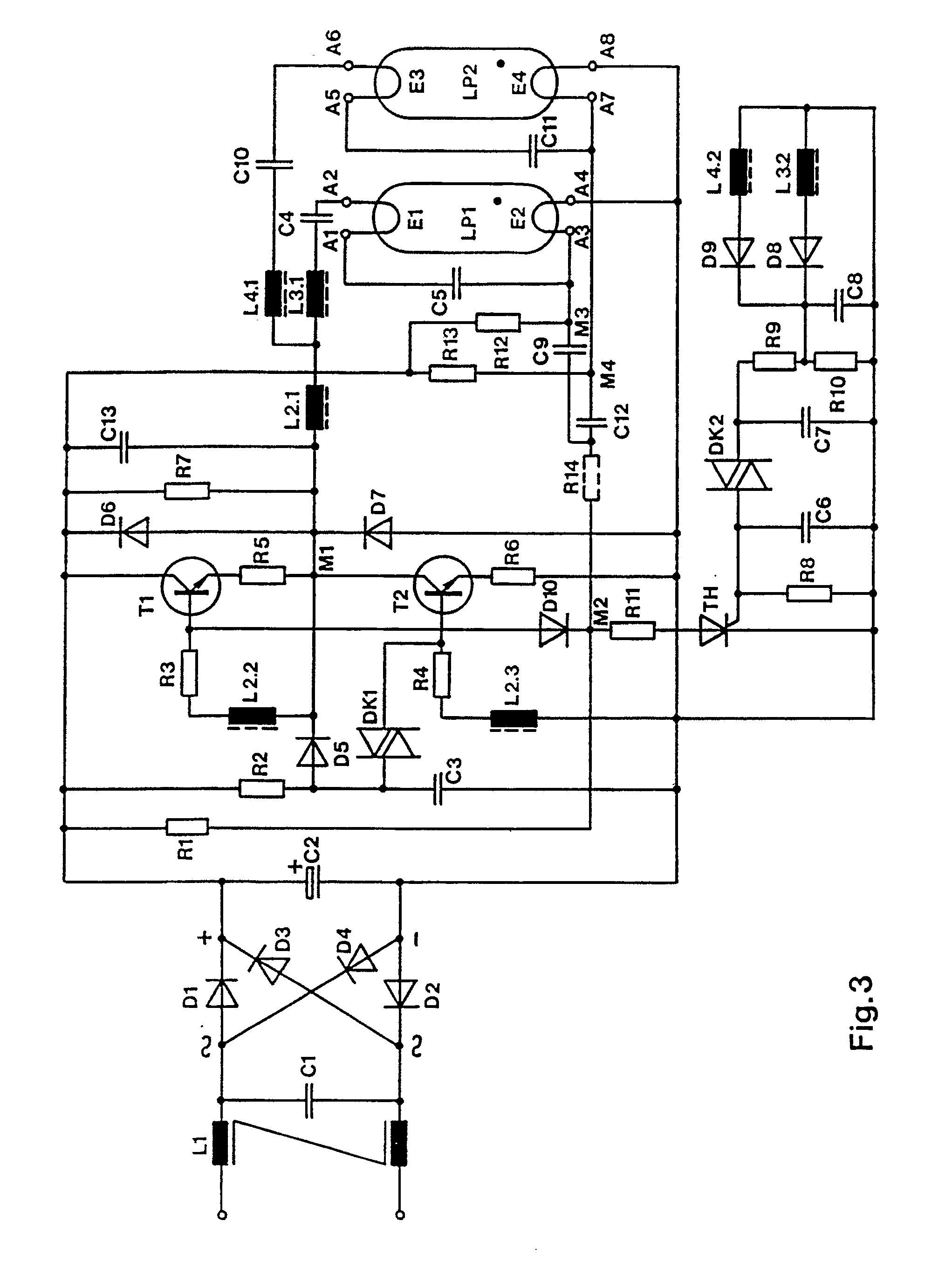 imgf0003 Spannende Elektronisches Vorschaltgerät Leuchtstofflampe Schaltplan Dekorationen