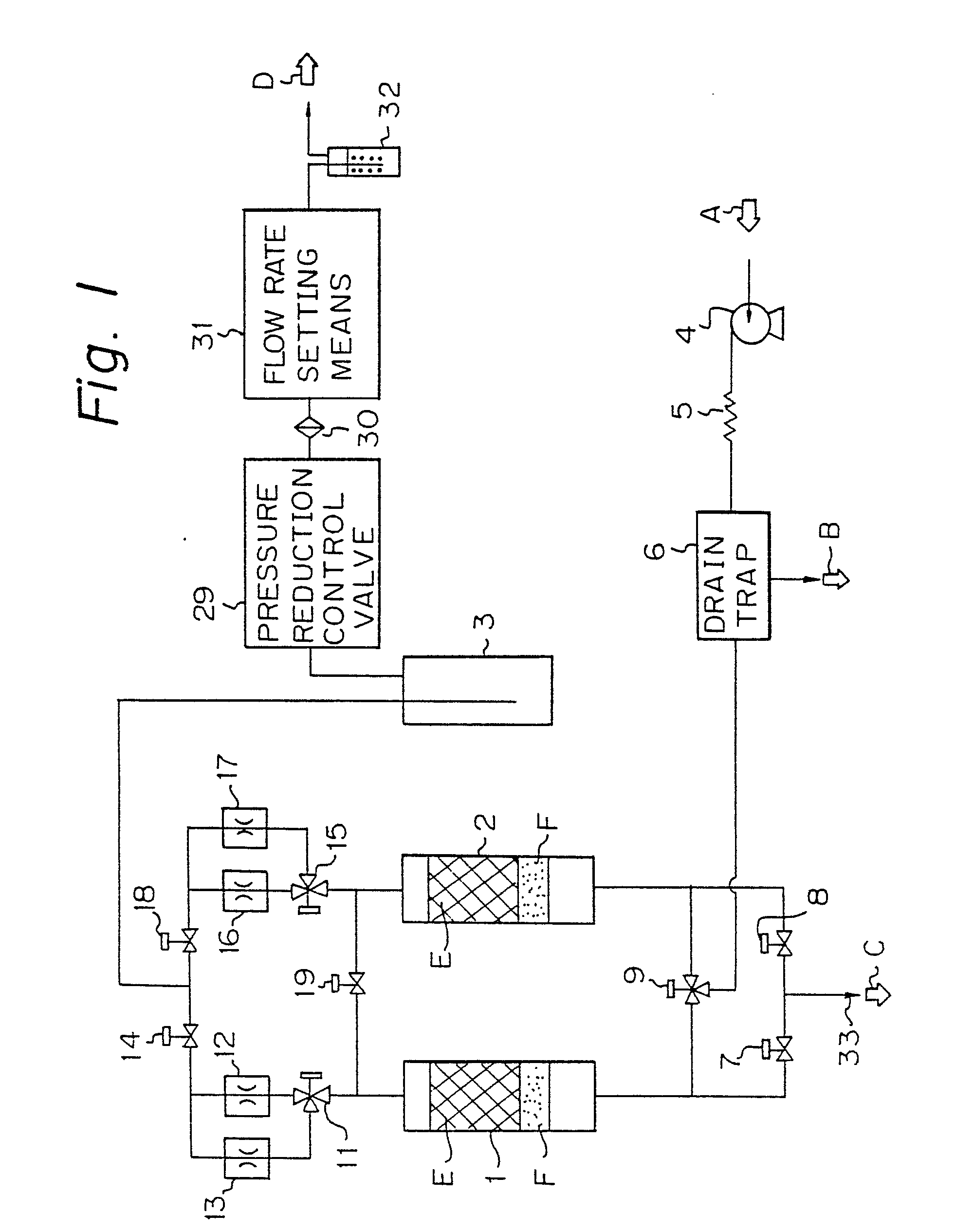 patent ep0266051a1 oxygen enriching apparatus with means for