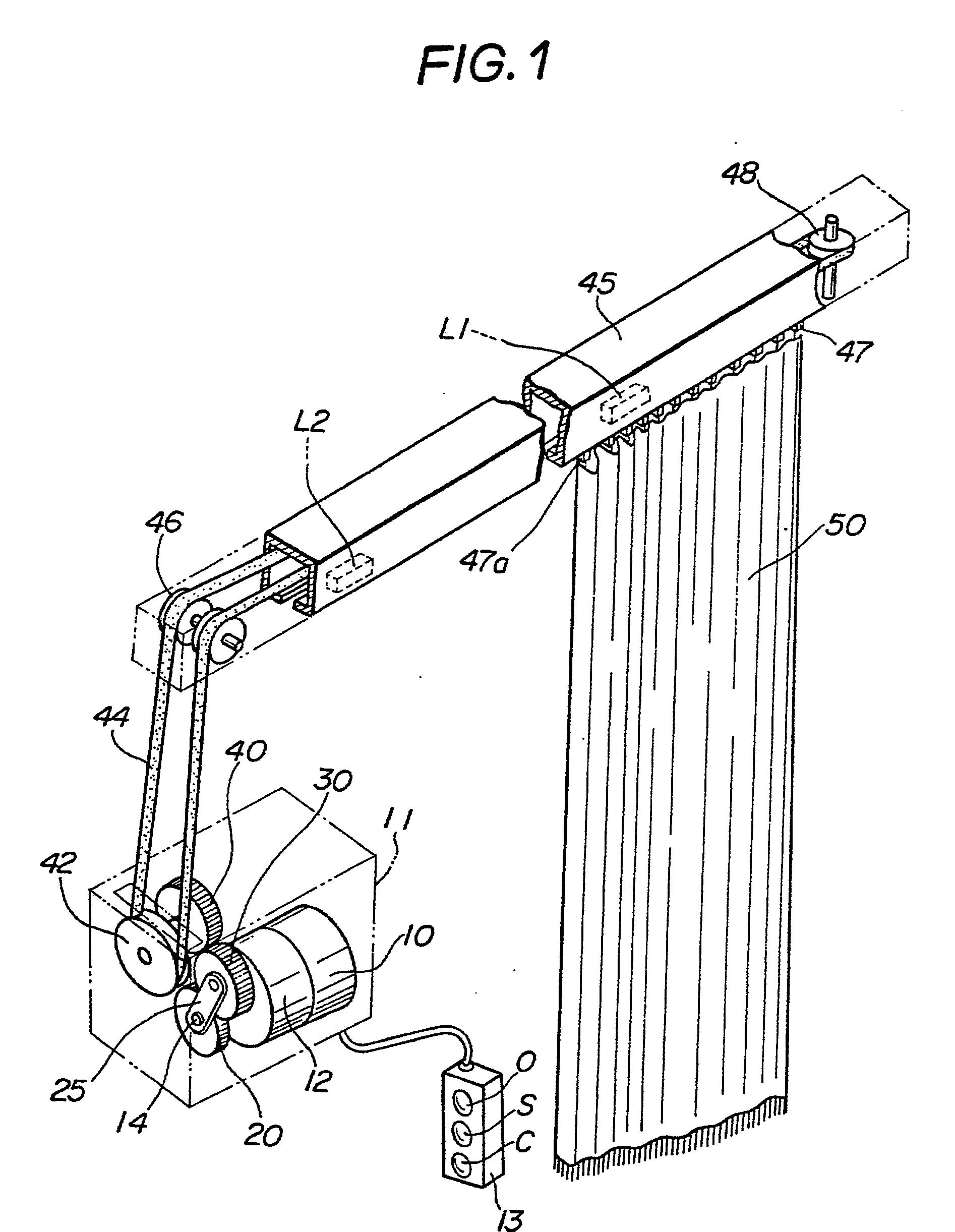patent ep0282970b1 mit der hand oder elektrisch zu bedienender vorhang google patents. Black Bedroom Furniture Sets. Home Design Ideas