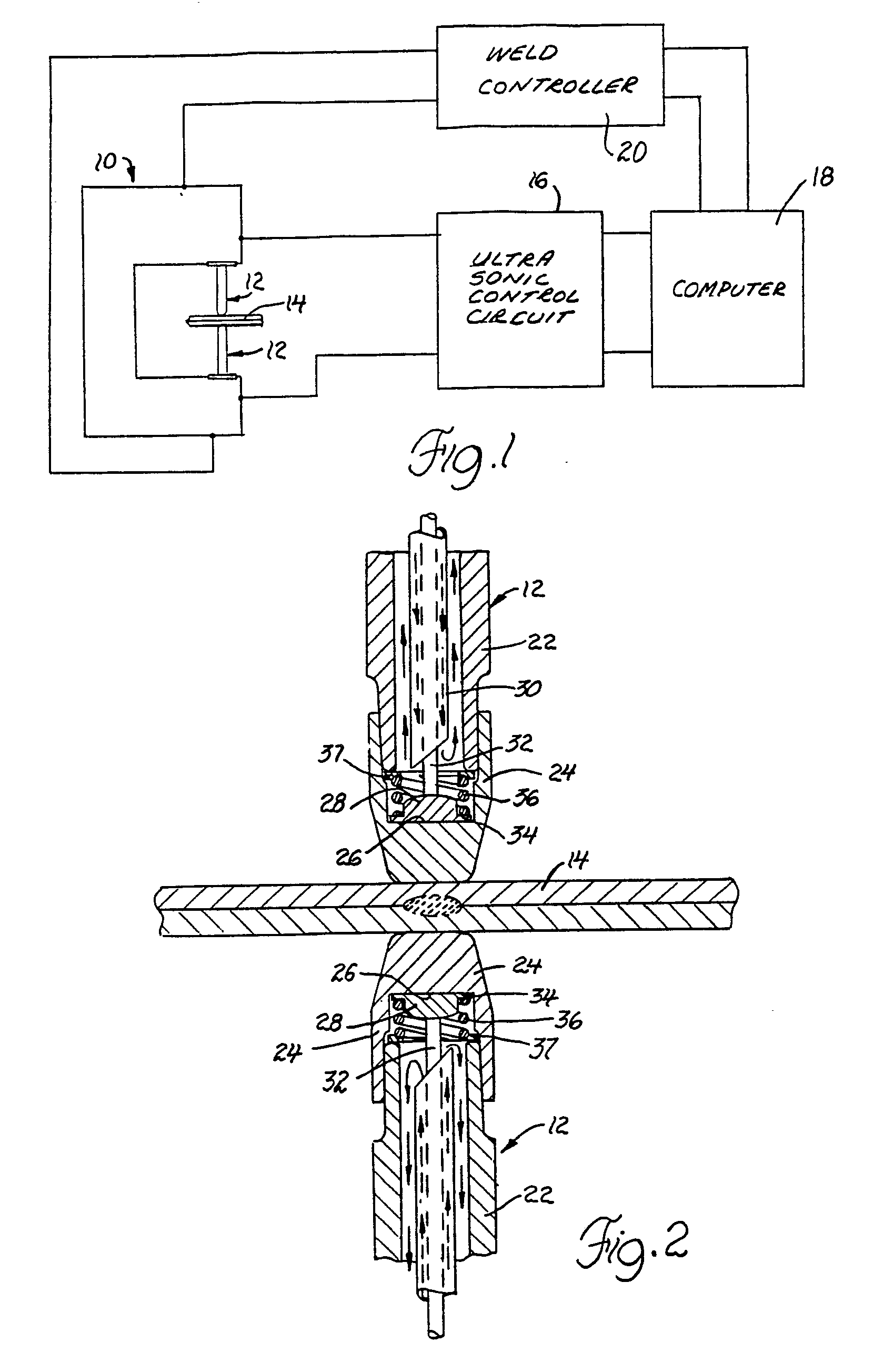 Patent Ep0284177b1 Method And Apparatus For Spot Weld Control Welding Schematic Diagram Drawing