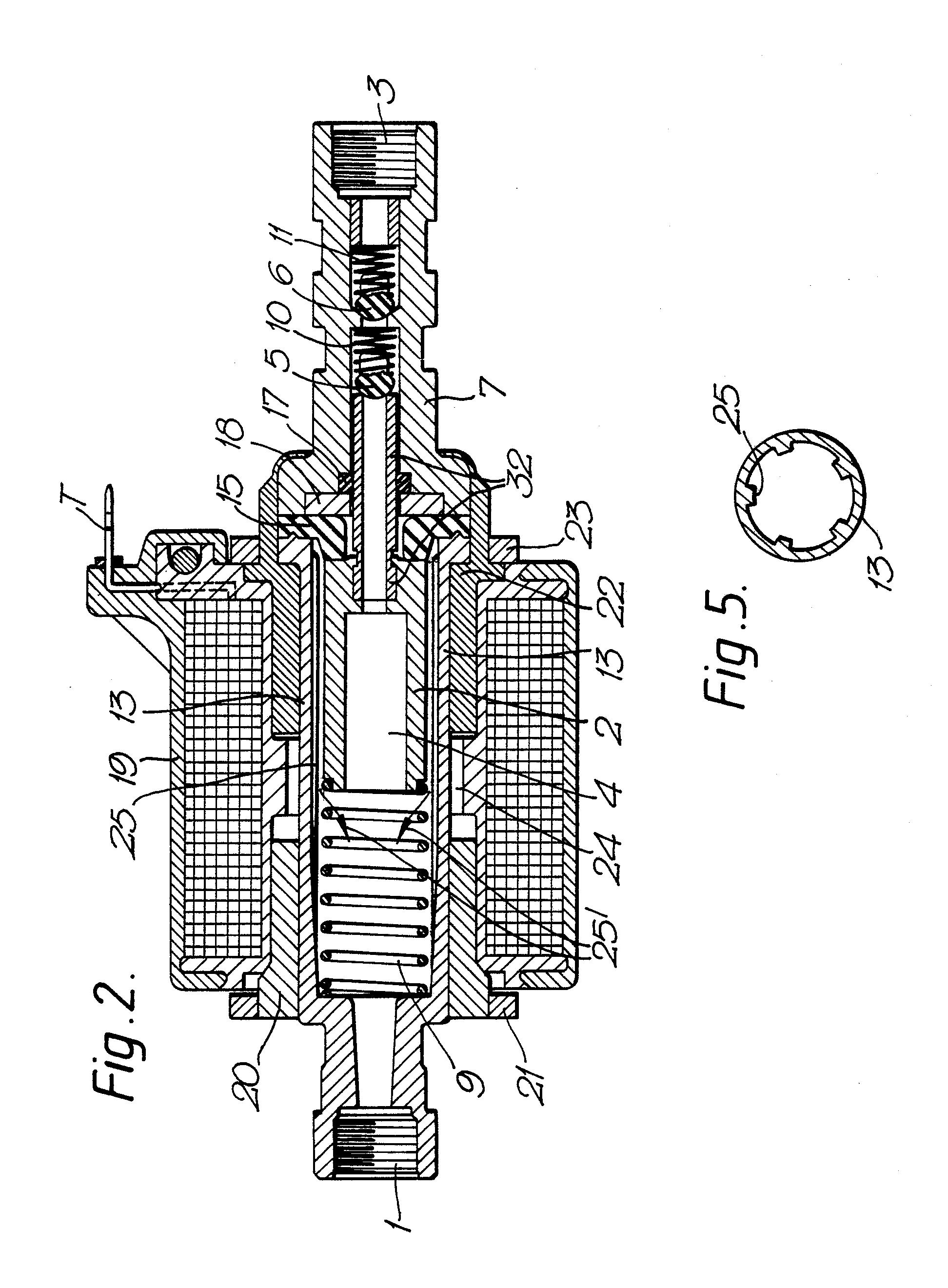 Patent EP0288216A1 - Electrical fluid pump - Google Patents