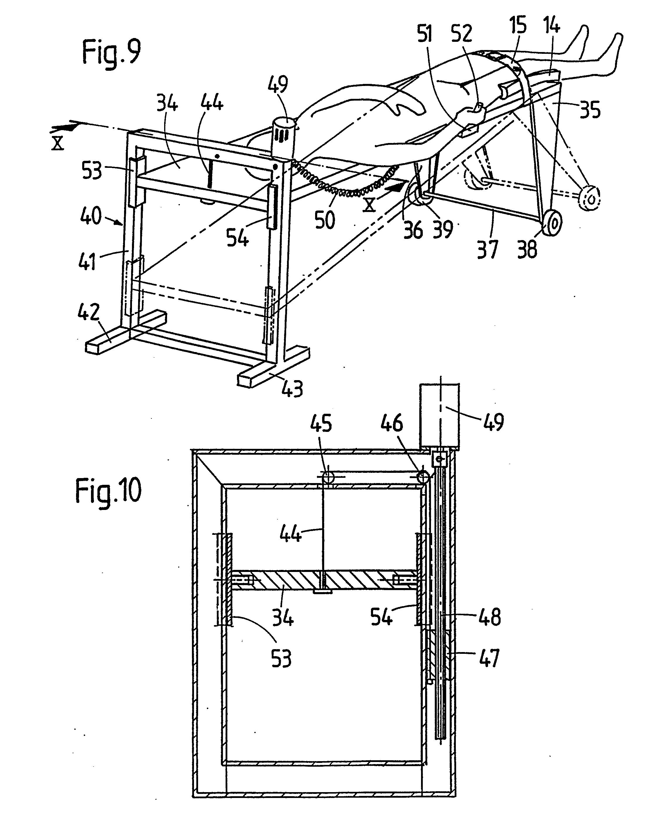 Patent EP0288437A2 - Appareil d'exercice passif de relaxation et d ...