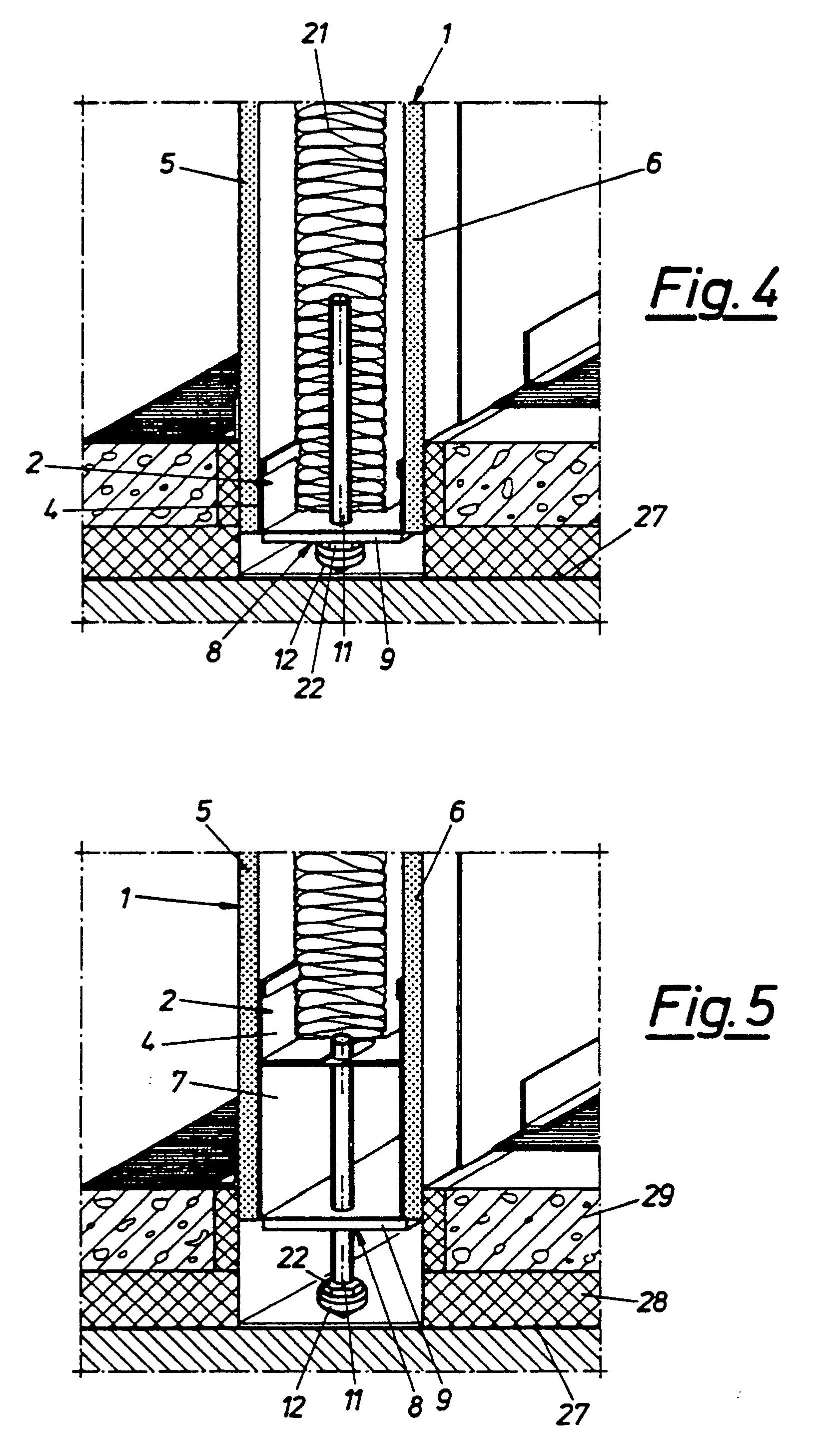 patent ep0302046b1 wandelementanordnung google patents. Black Bedroom Furniture Sets. Home Design Ideas