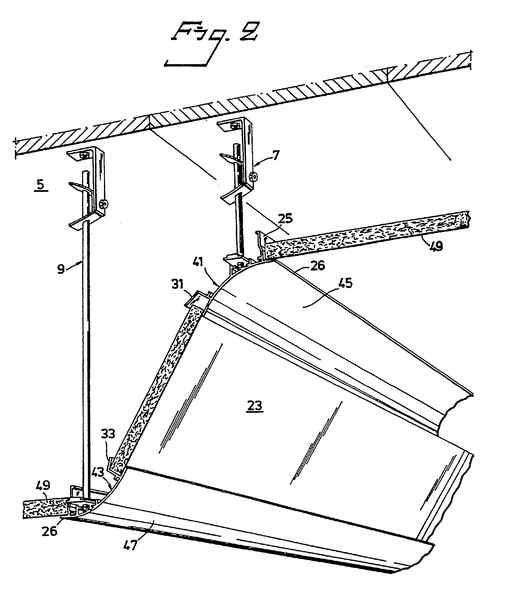 Patent Ep0306463b1 Suspended Ceiling Structure Google