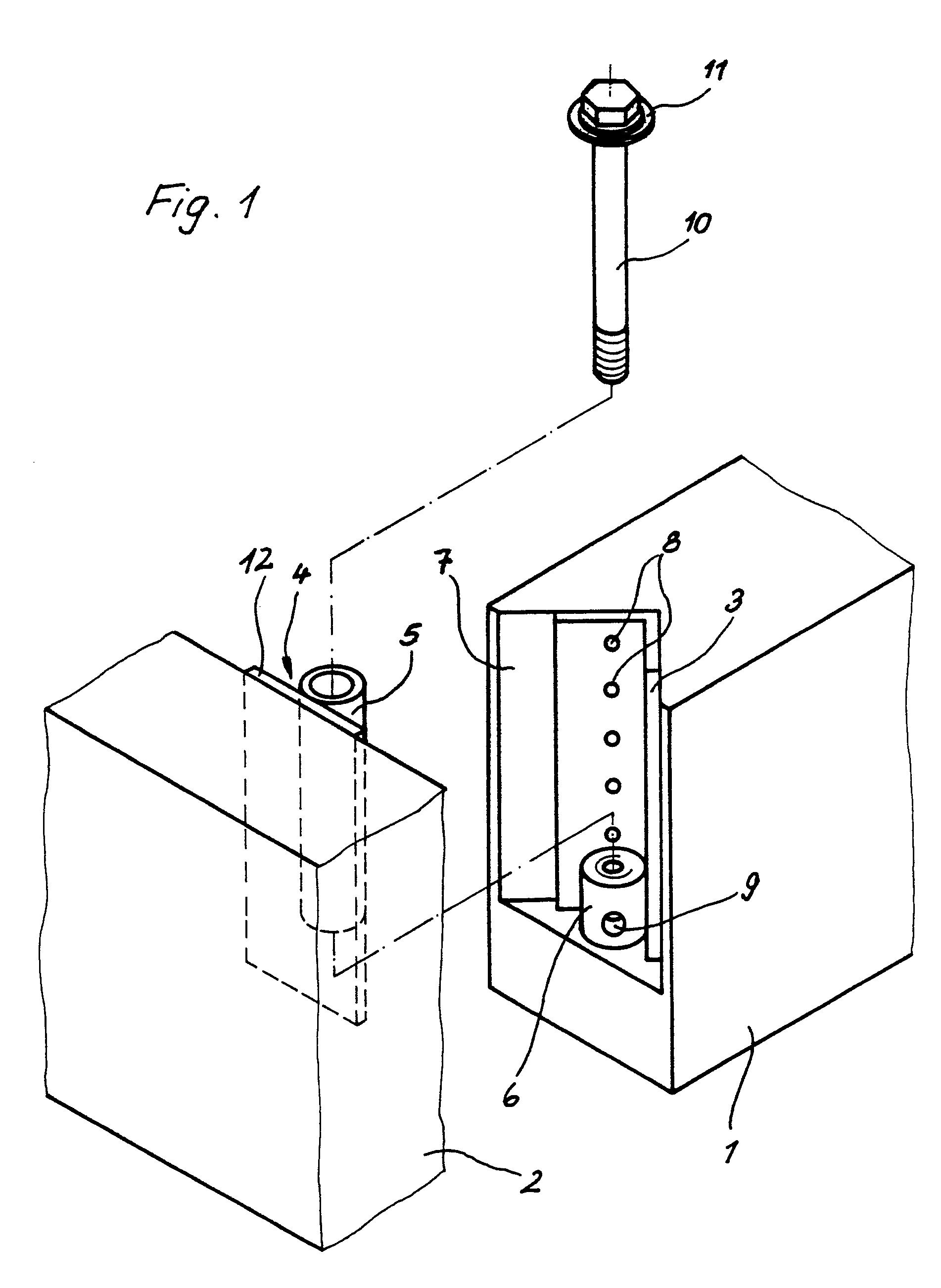 patent ep0319610a1 vorrichtung zum verbinden zweier holzbalken google patents. Black Bedroom Furniture Sets. Home Design Ideas