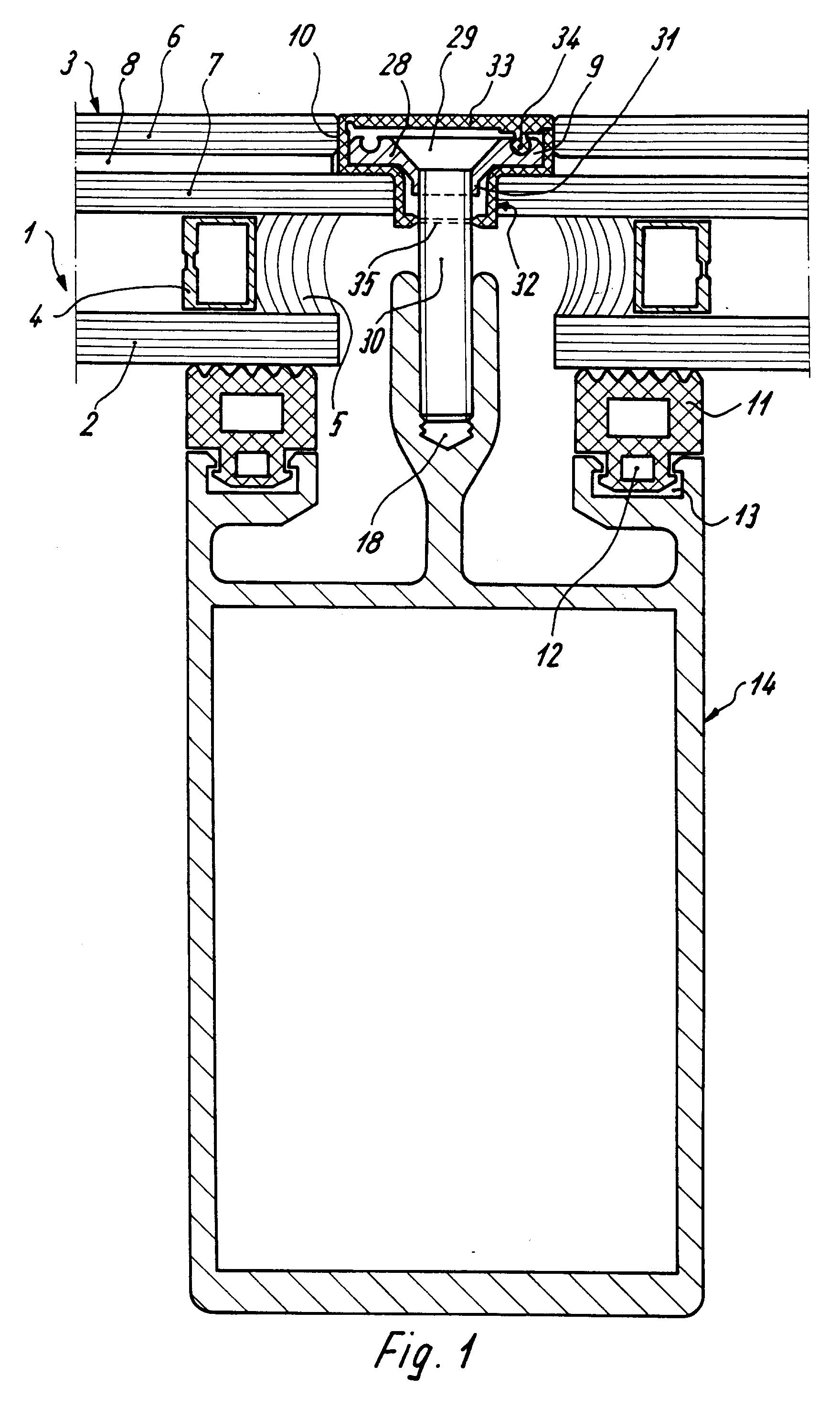 patent ep0324927b1 befestigung f r isolierglassscheiben einer aussenwand oder dachverglasung. Black Bedroom Furniture Sets. Home Design Ideas