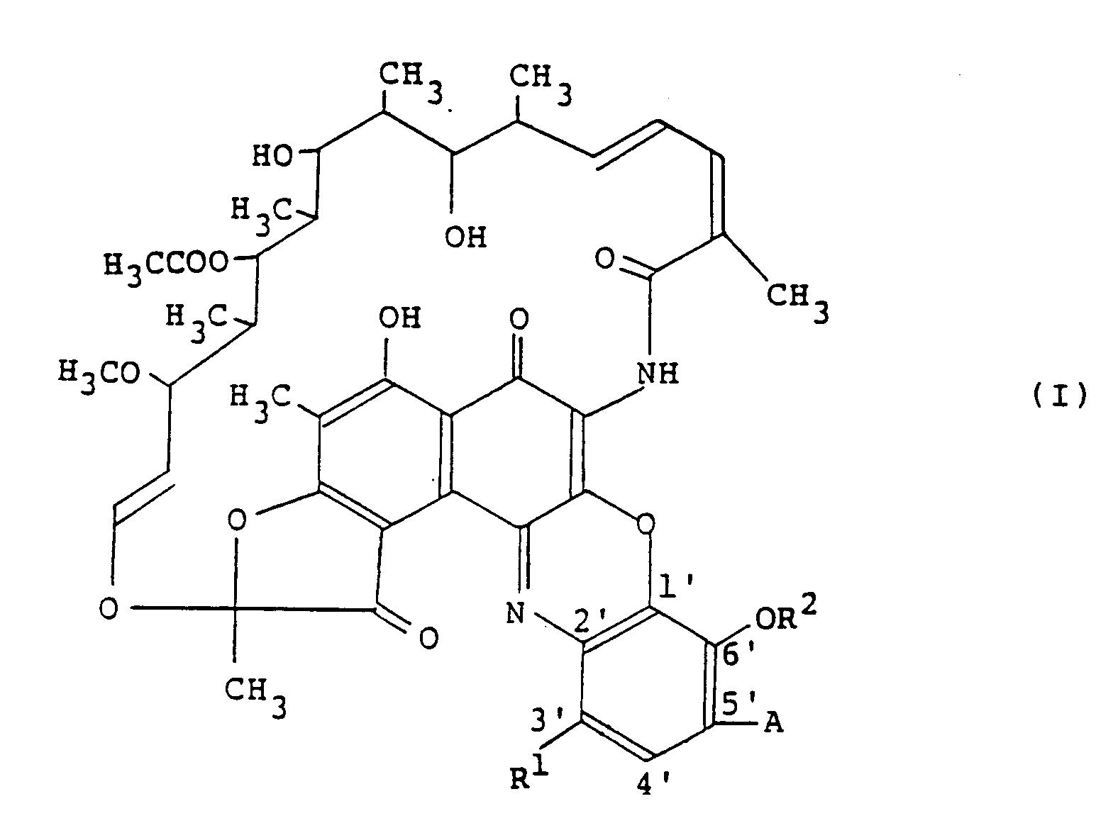 Patent EP0333176B1 - Substituted benzoxazinorifamycin derivative ...