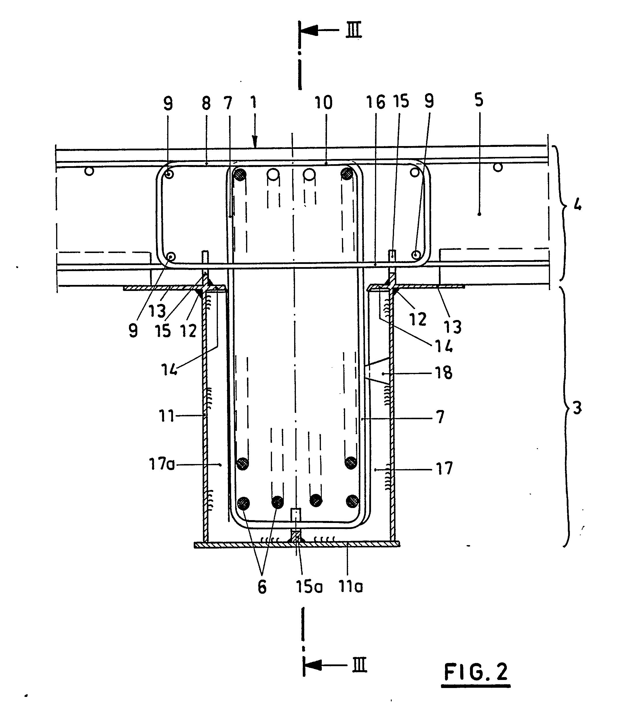 patent ep0345620a2 tr ger aus stahlbeton mit. Black Bedroom Furniture Sets. Home Design Ideas