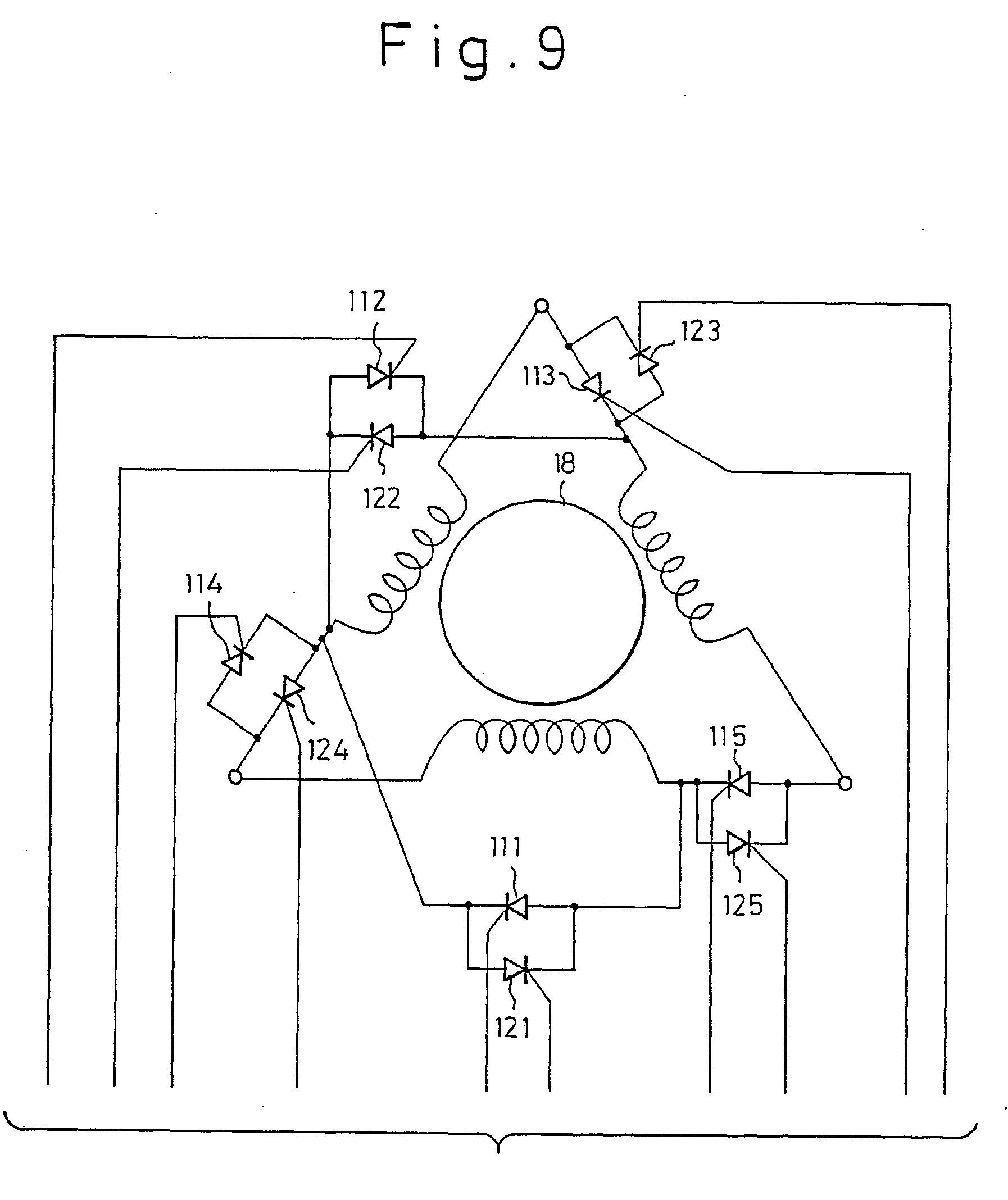 Patent Ep0364589a1 Device For Switching Connection Of A