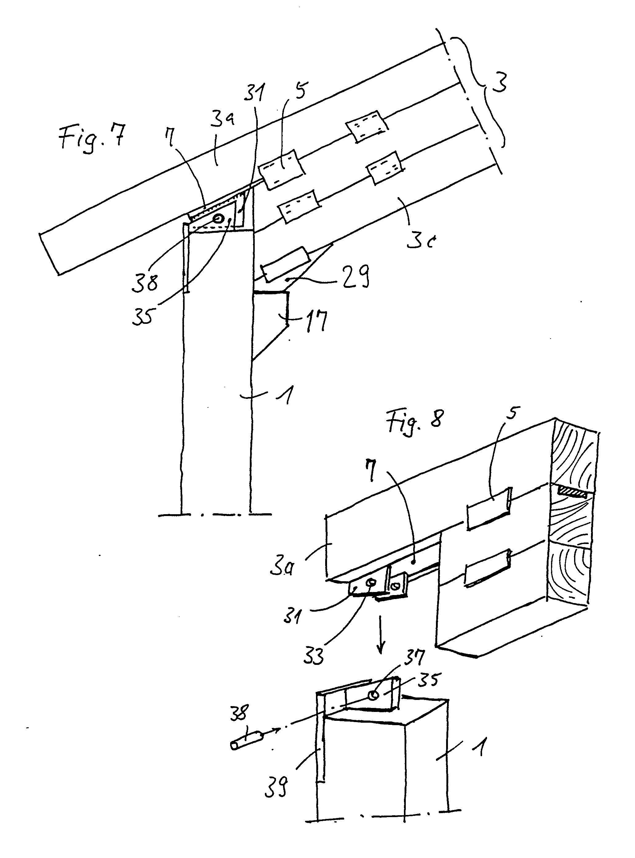 patent ep0365834a2 biegefeste eckverbindung eines holzbalkens mit einer st tze google patents. Black Bedroom Furniture Sets. Home Design Ideas