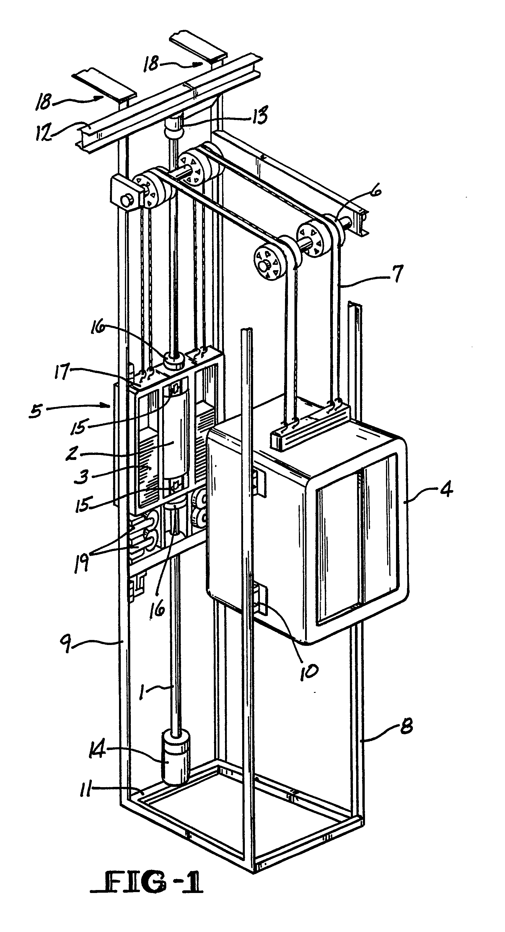 Assembling Hydraulic Elevator System : Patent ep a guide rail support structure for