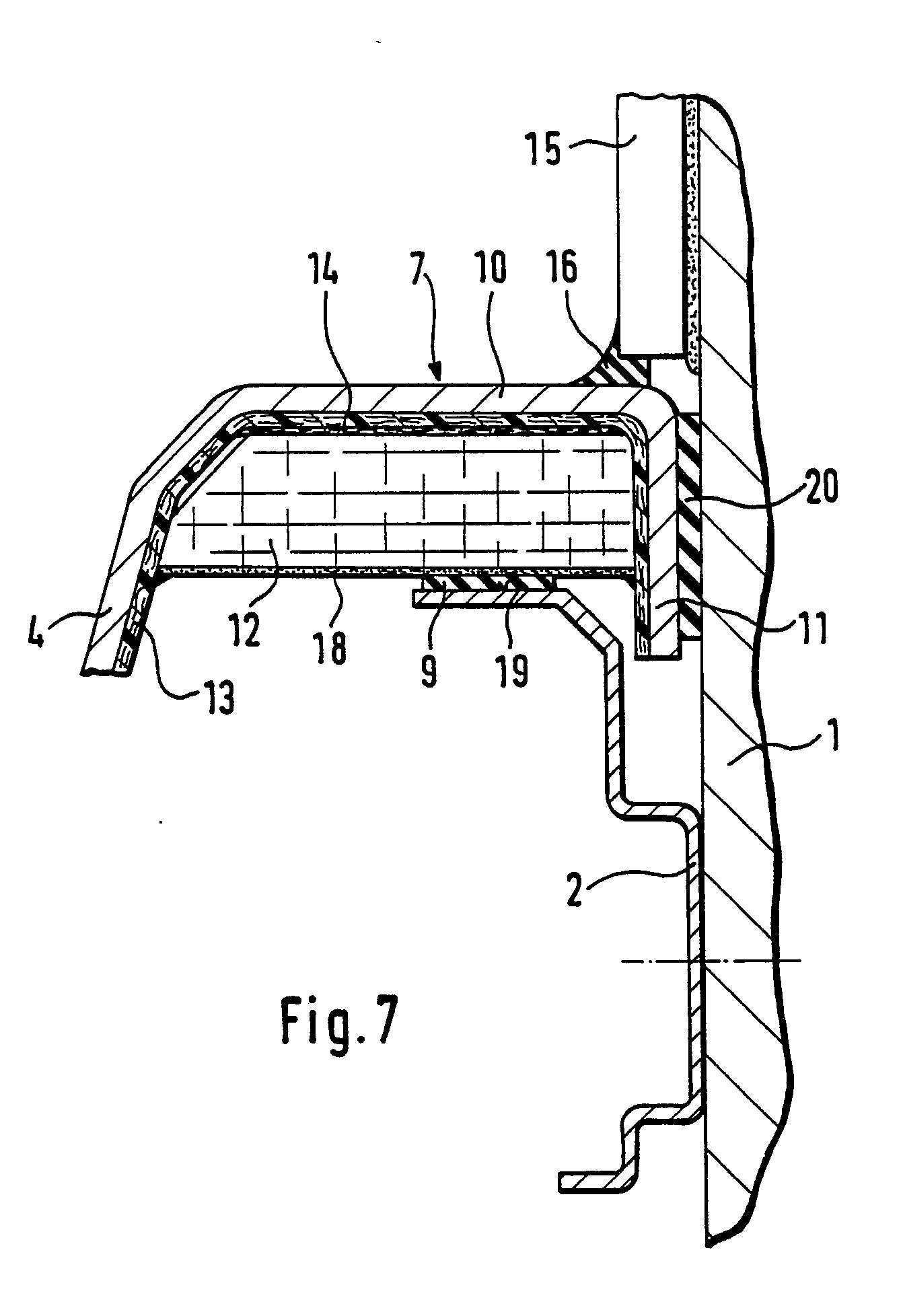 patent ep0376046a1 verfahren zum einbau einer wanne und wanne insbesondere zur verwendung bei. Black Bedroom Furniture Sets. Home Design Ideas