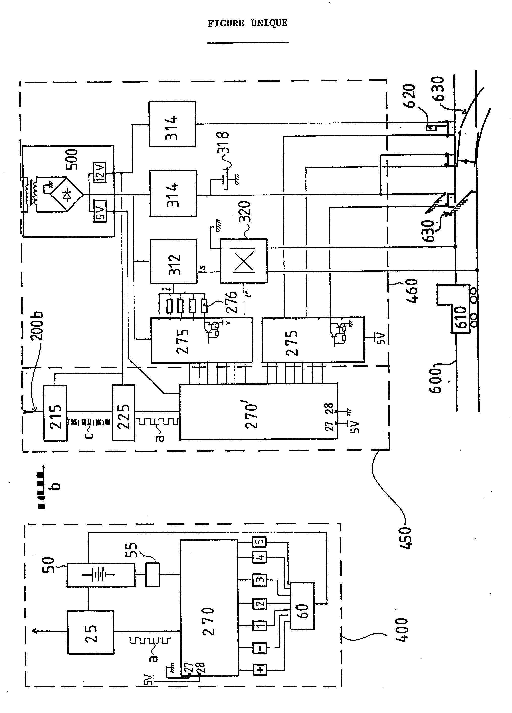 patent ep0381594a1 dispositif de commande distance pour une installation de jouet lectrique. Black Bedroom Furniture Sets. Home Design Ideas