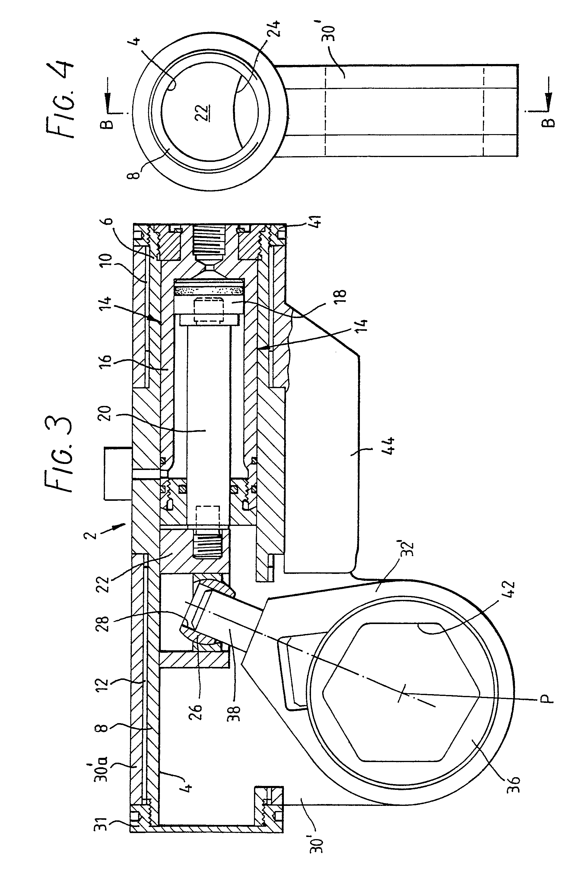 Patent EP0382408A1 - Hydraulic torque wrench - Google Patents