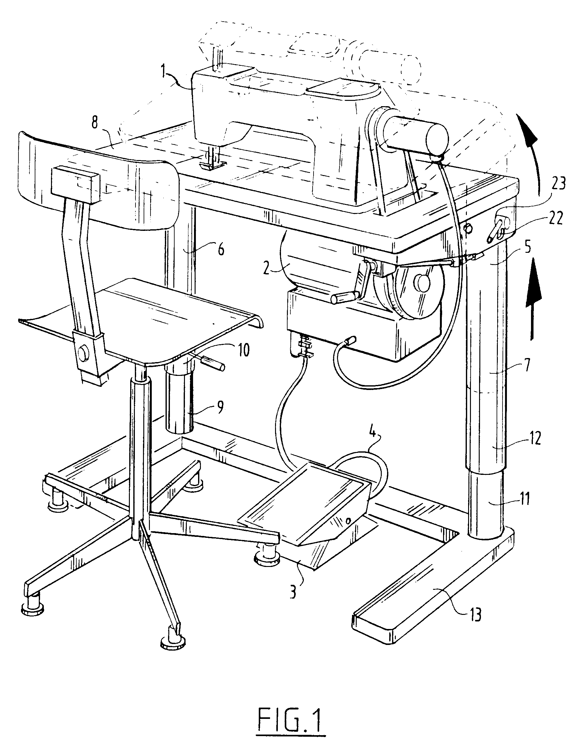 patent ep0426031b1 industrial sewing machine sewing. Black Bedroom Furniture Sets. Home Design Ideas