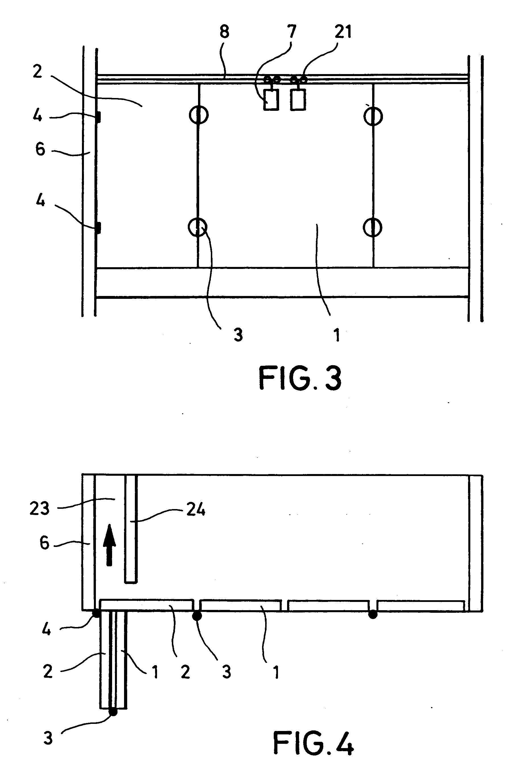 patent ep0433726b1 einschiebe faltt r system f r einen schrank google patents. Black Bedroom Furniture Sets. Home Design Ideas