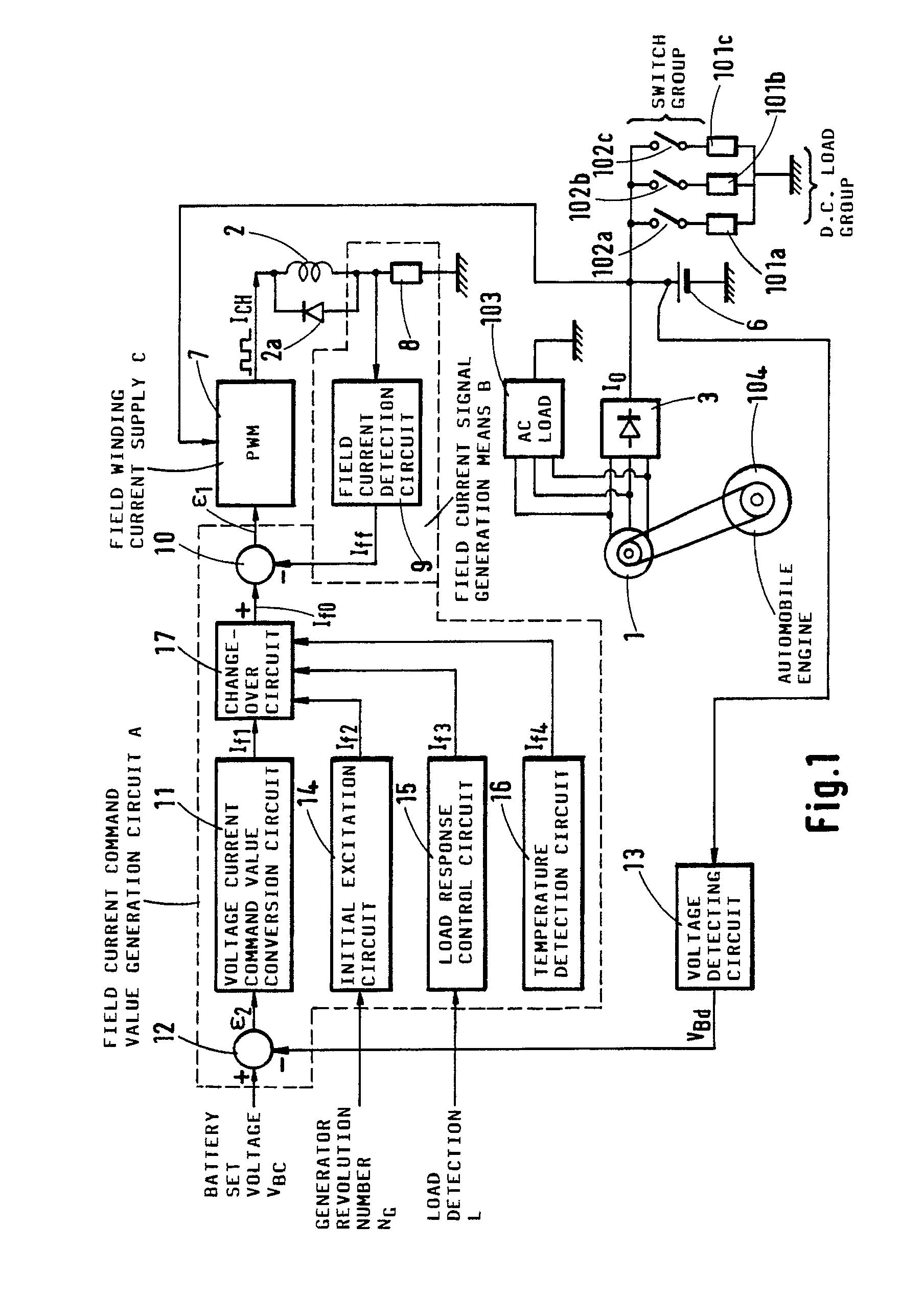 patent ep0438884a1 appareil de contr le pour g n rateur. Black Bedroom Furniture Sets. Home Design Ideas