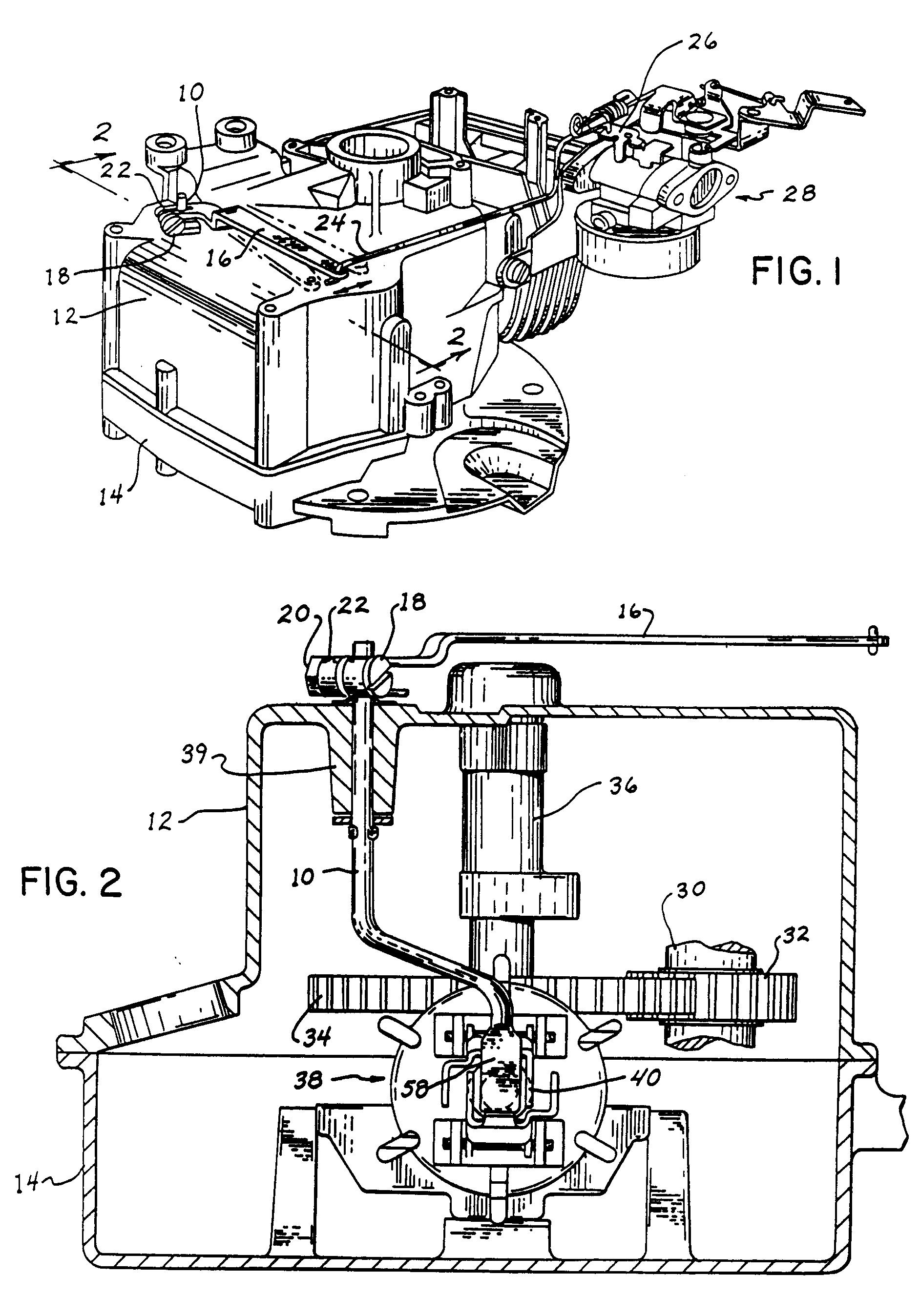 patent ep0442636b1 - r u00e9gulateur m u00e9canique pour moteurs  u00e0 combustion interne