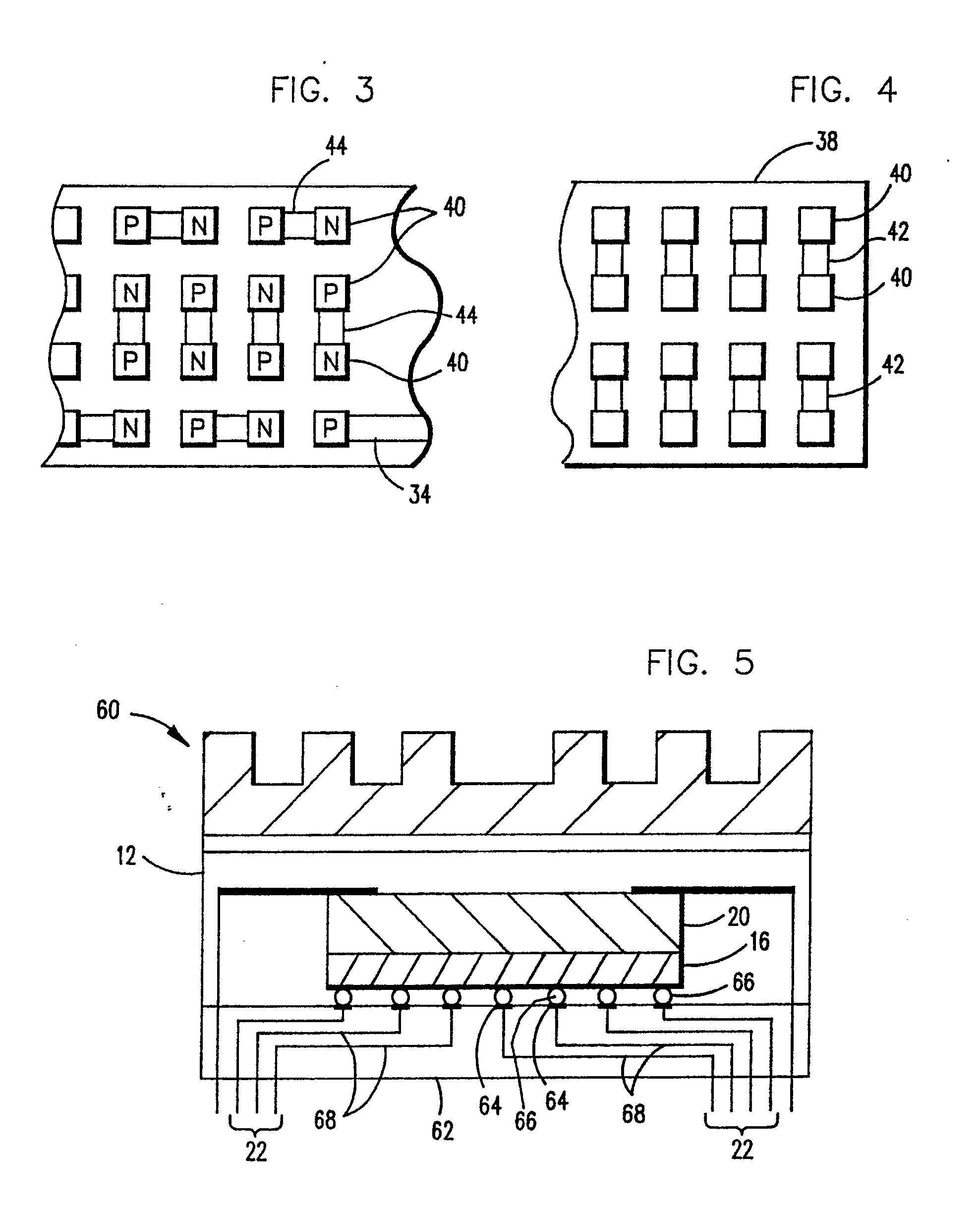 patent ep0447020a1 - integrated package having a thermoelectric cooler