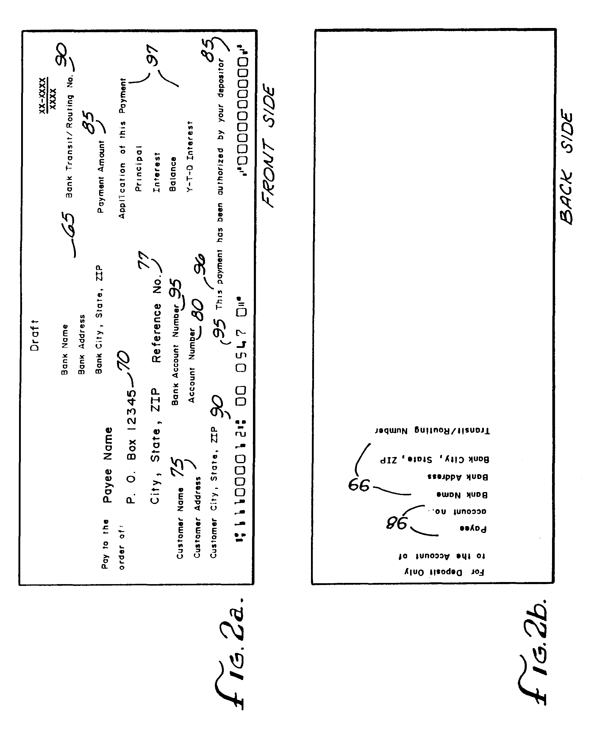 patent ep0481135a1 - financial data processing system using payment coupons