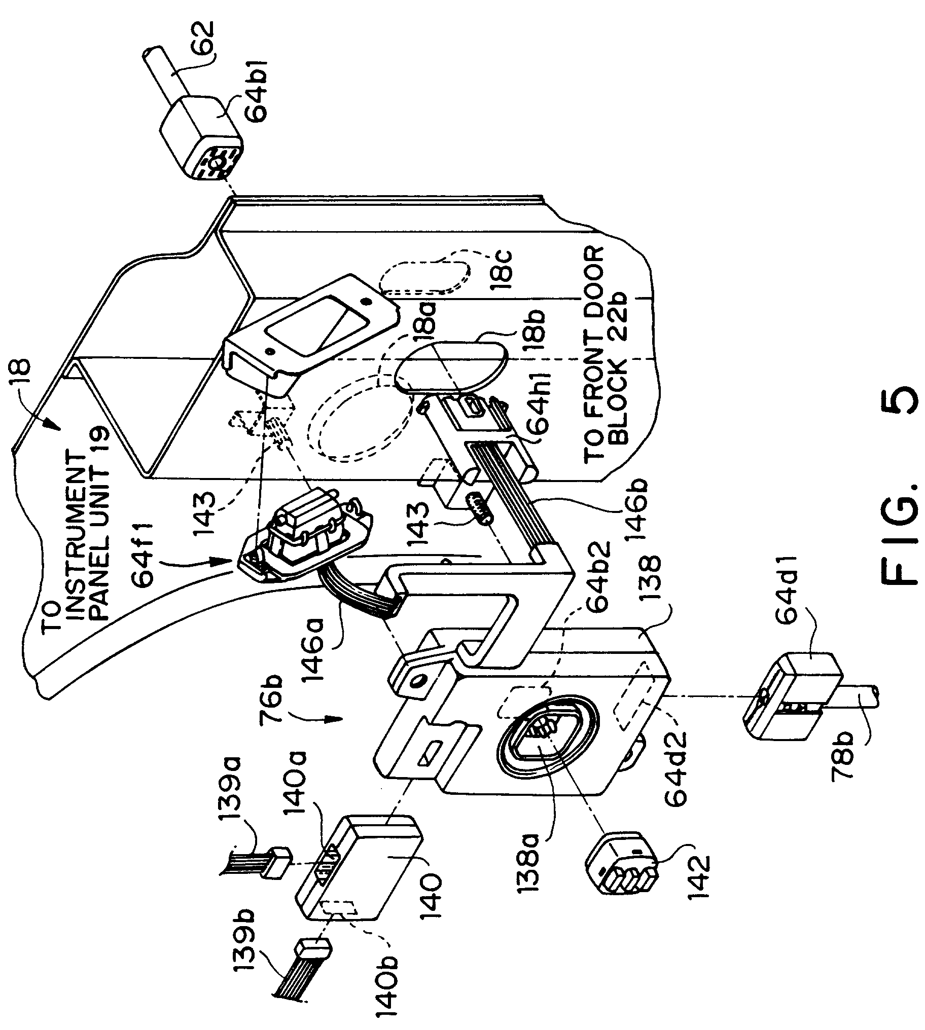 Patent Ep0507225b1 Electrical Wiring Harness Structure