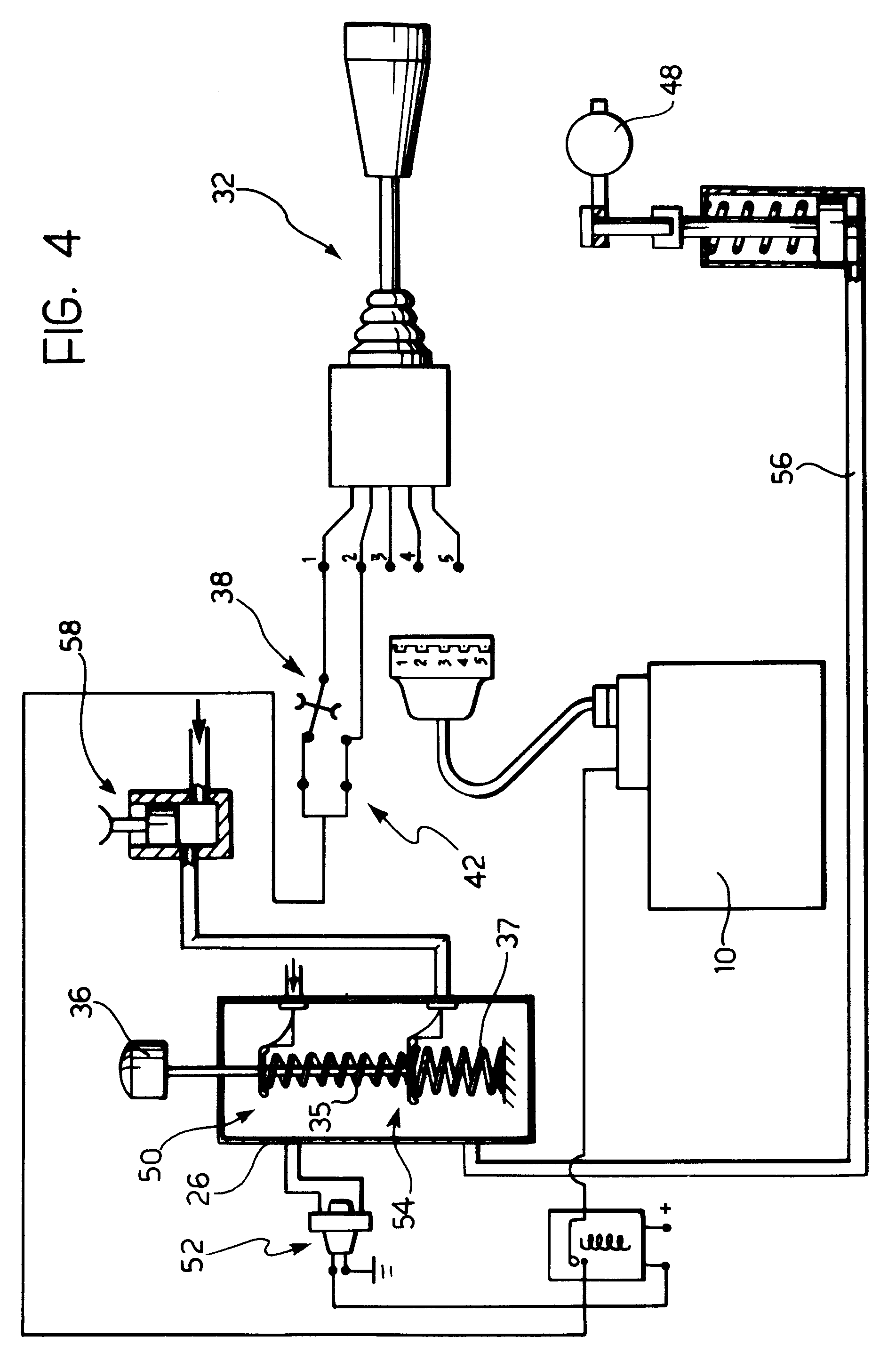 Patent EP0507745A2  A control system for a hydraulic