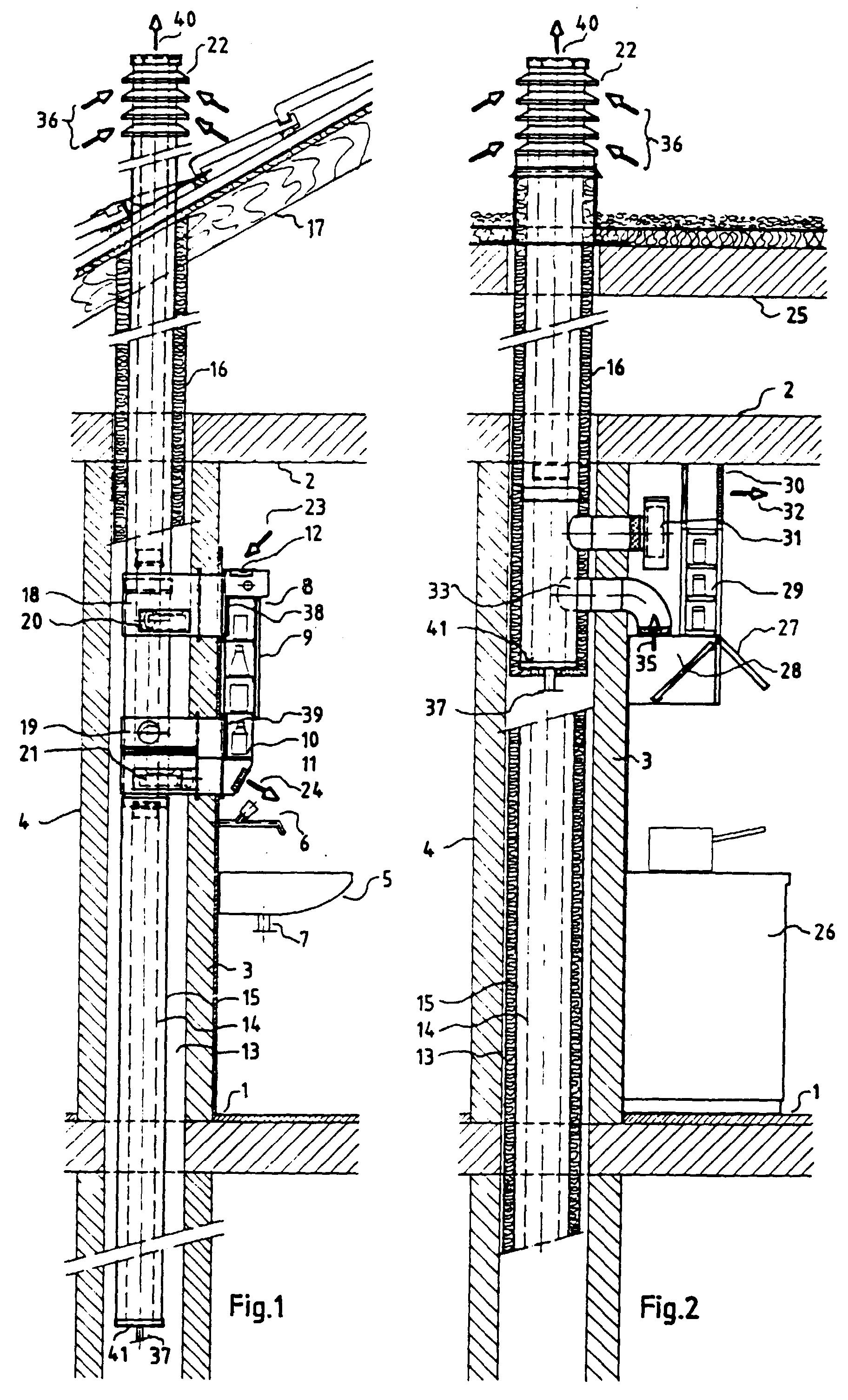 patent ep0533629b1 - verfahren und einrichtung zur zufuhr von