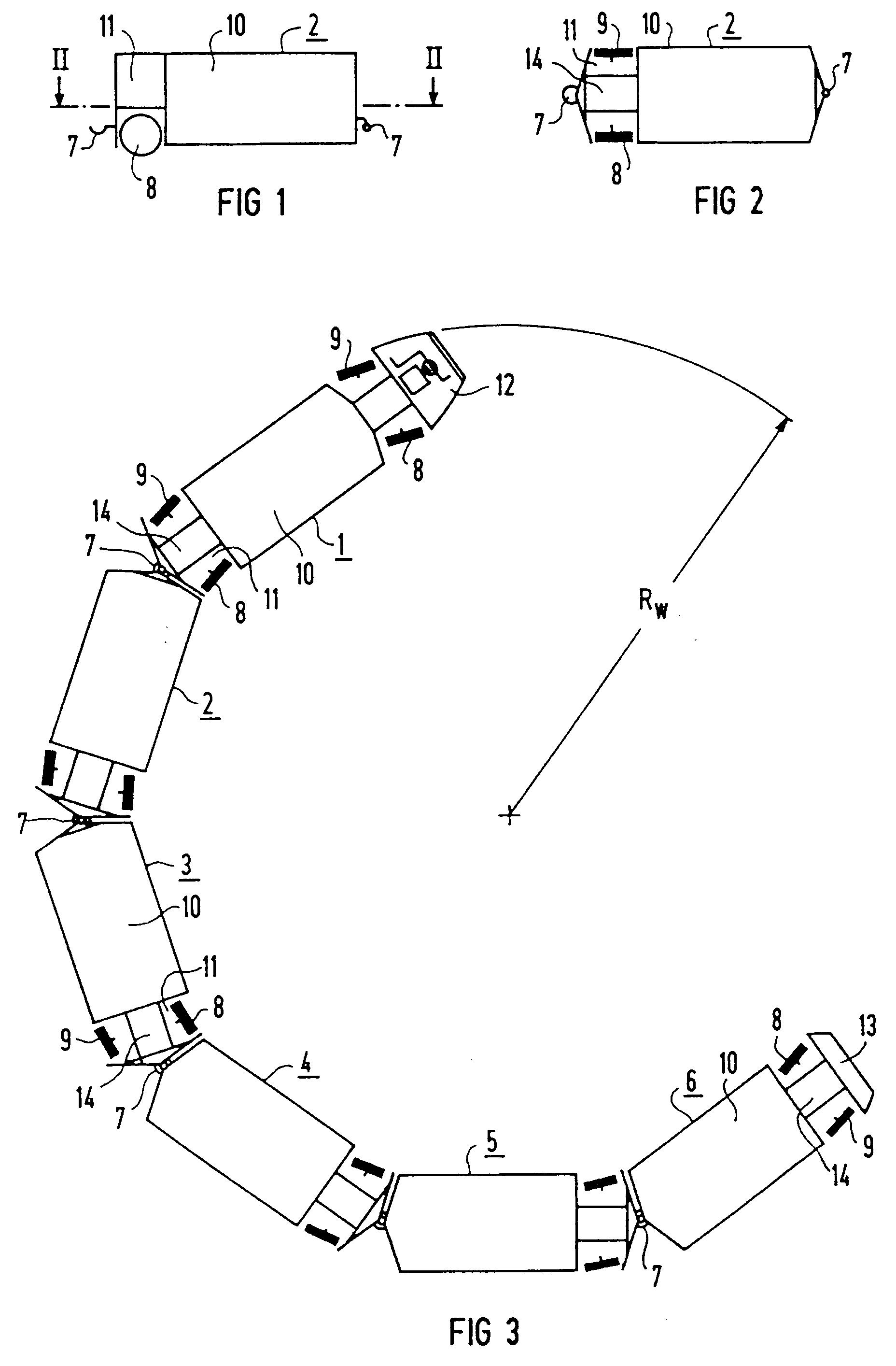 patent ep0536433b1 mehrteiliges strassenfahrzeug. Black Bedroom Furniture Sets. Home Design Ideas