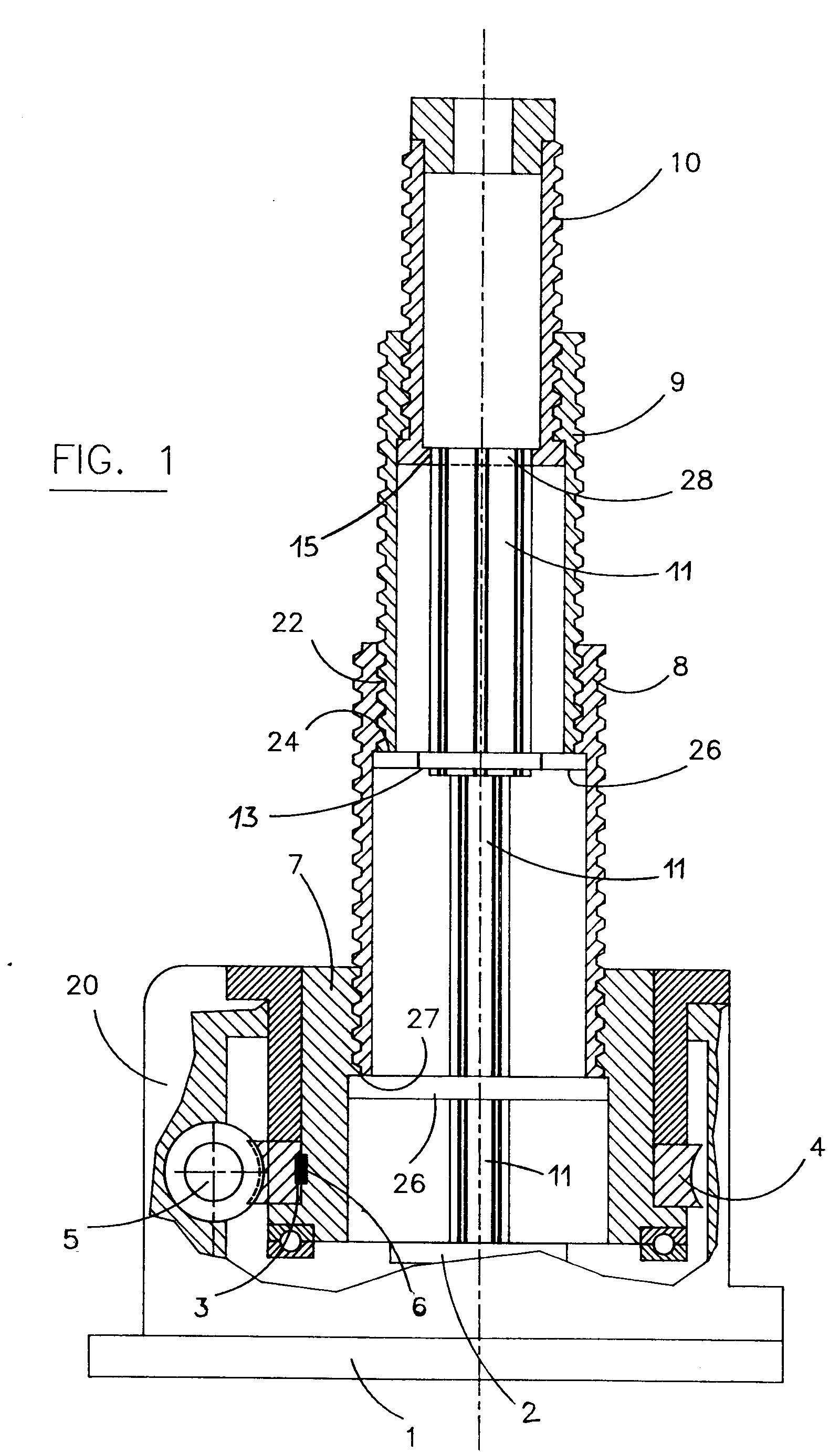 Patent Ep0538208a1 Electrical Telescopic Jack Google