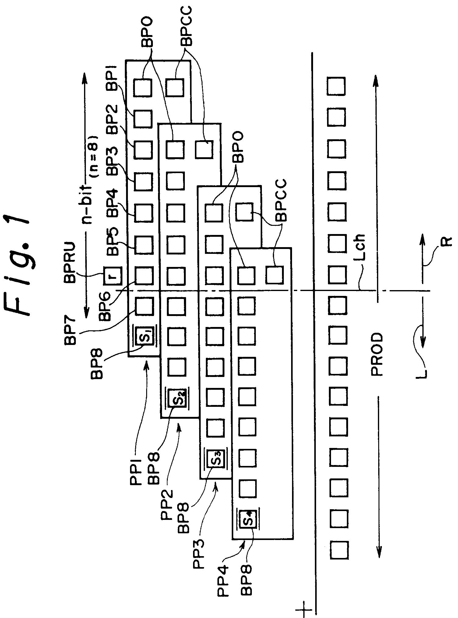 Patent Ep0545654a2 Digital Multiplier Circuit Google Patents 8 Bit Diagram Drawing