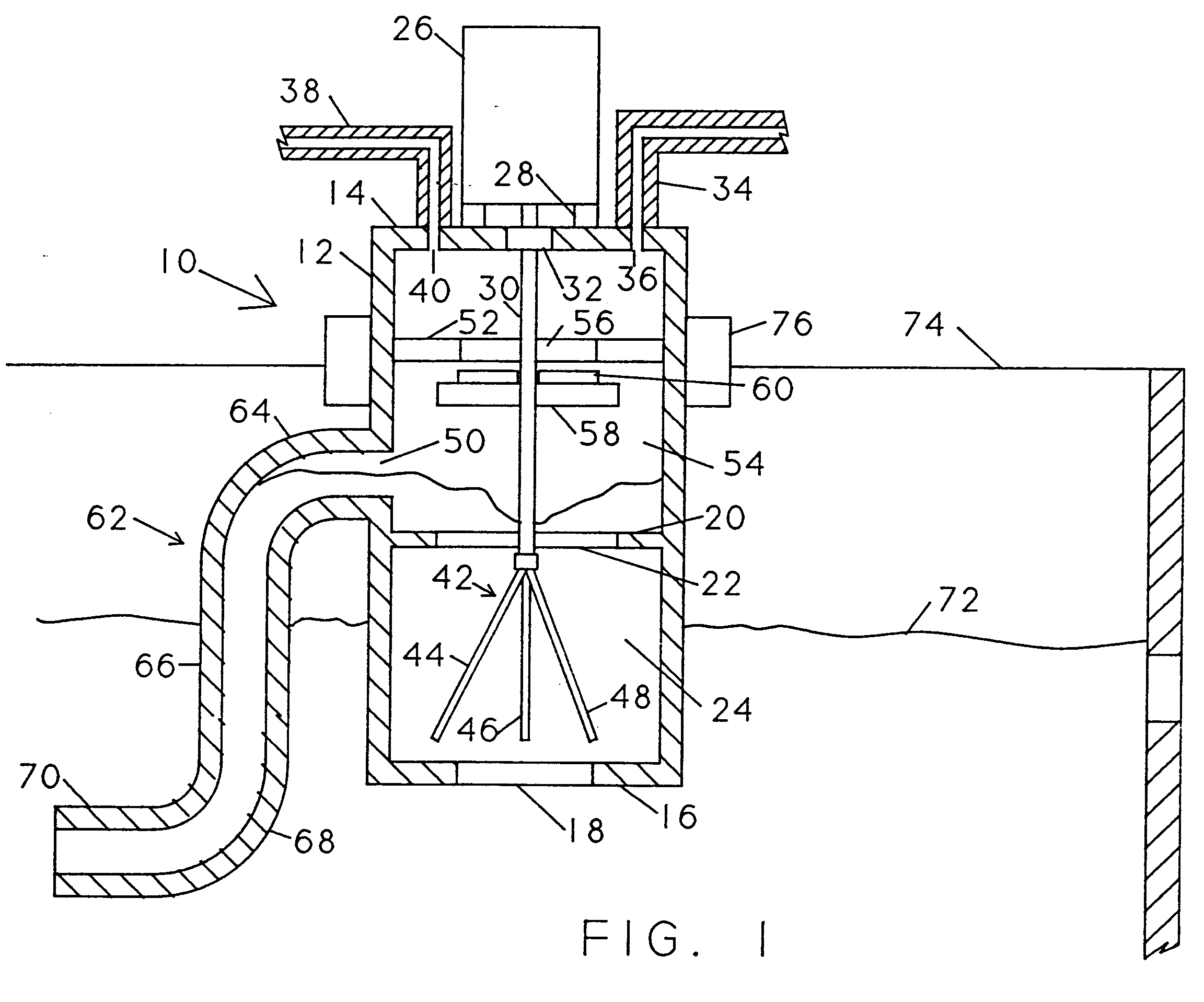 patent ep0555965a2 - controlled gas trap system