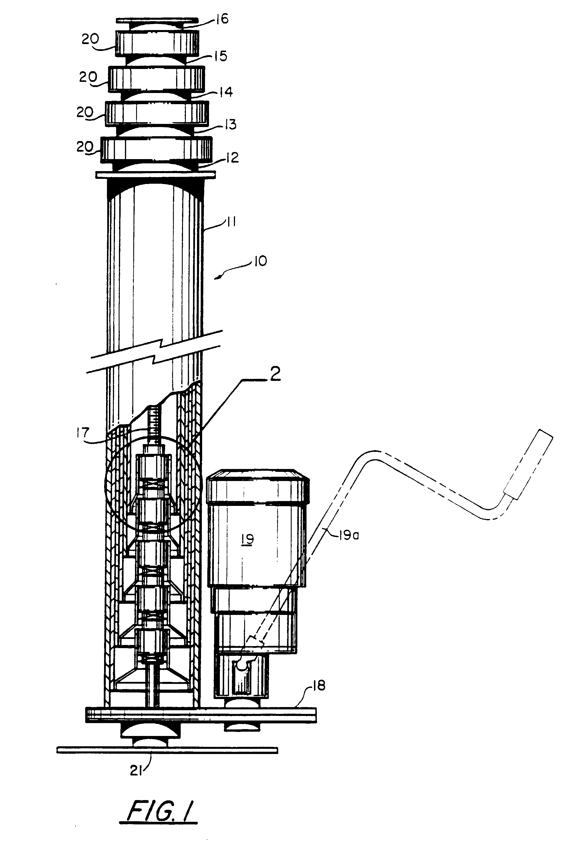 Patent Ep0560978b1 Telescoping Mast With Improved