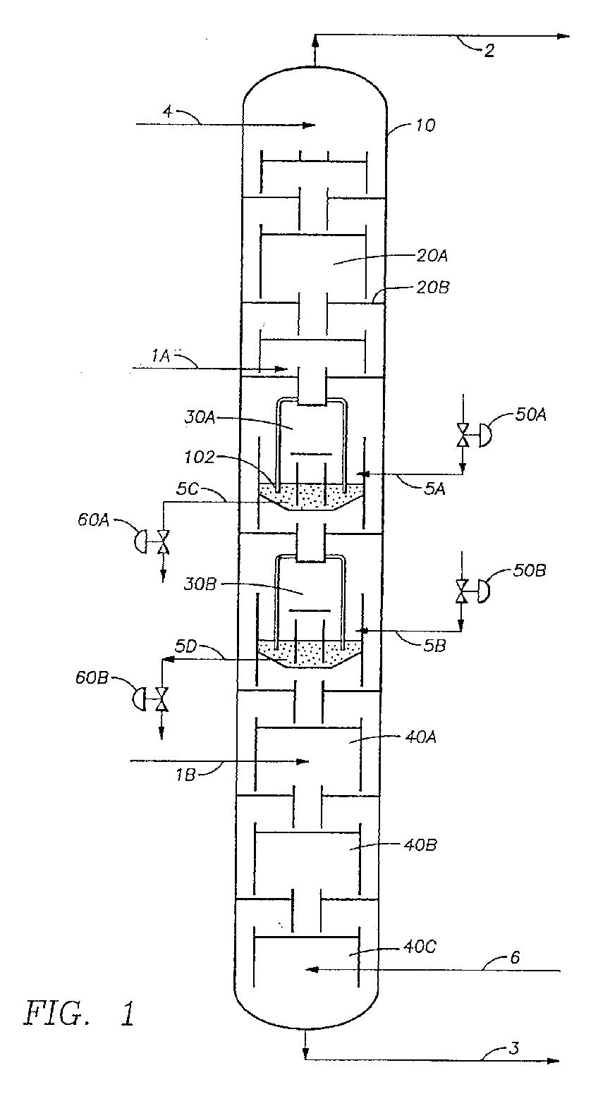 how to get vapor velocity in distillation column