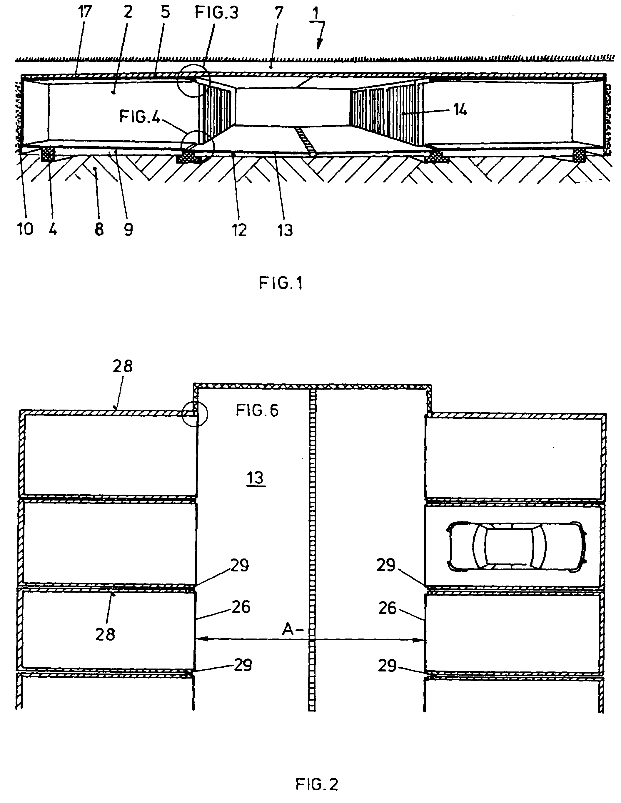 patent ep0573748b1 souterrain google patents. Black Bedroom Furniture Sets. Home Design Ideas