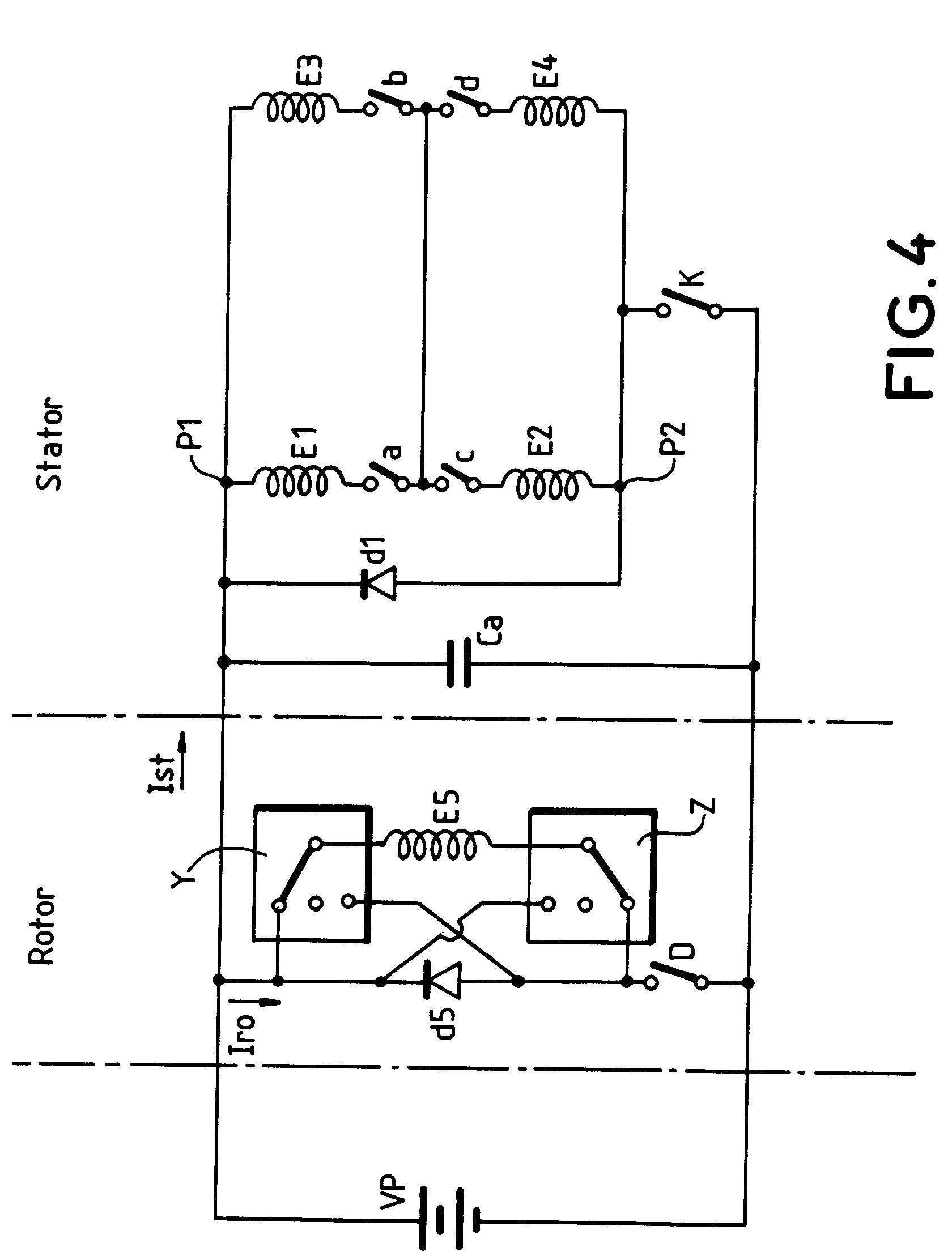 patent ep0576307a1 moteur auto synchrone et cha ne de traction lectrique utilisant un moteur. Black Bedroom Furniture Sets. Home Design Ideas