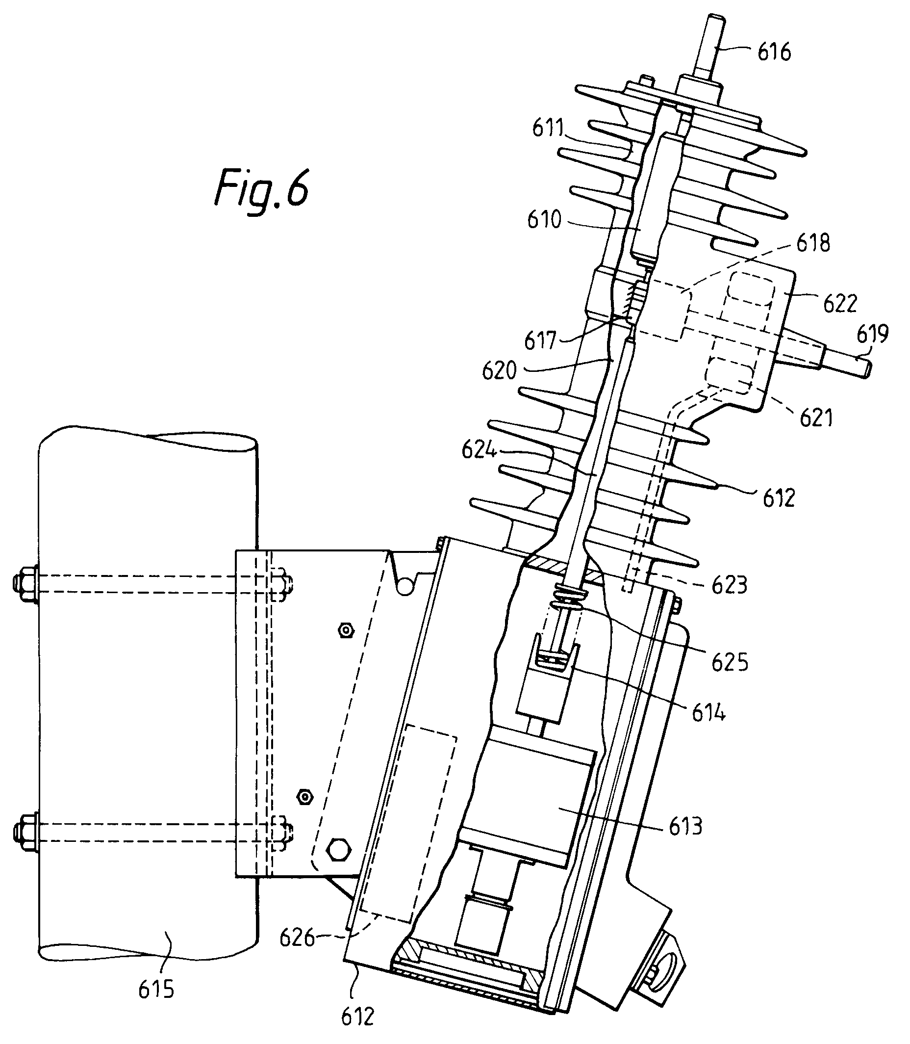 patent ep0580285a2 - auto-reclosers