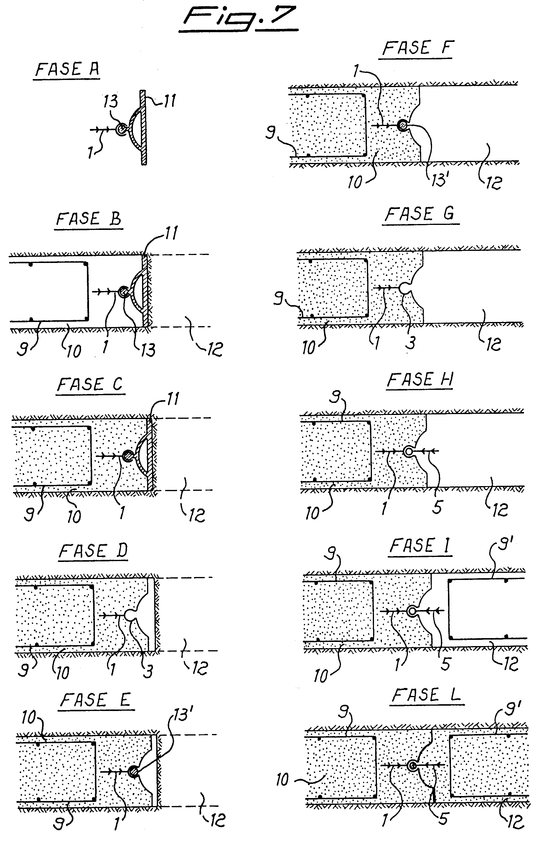 Patent ep a sealing joint in diaphragms formed by