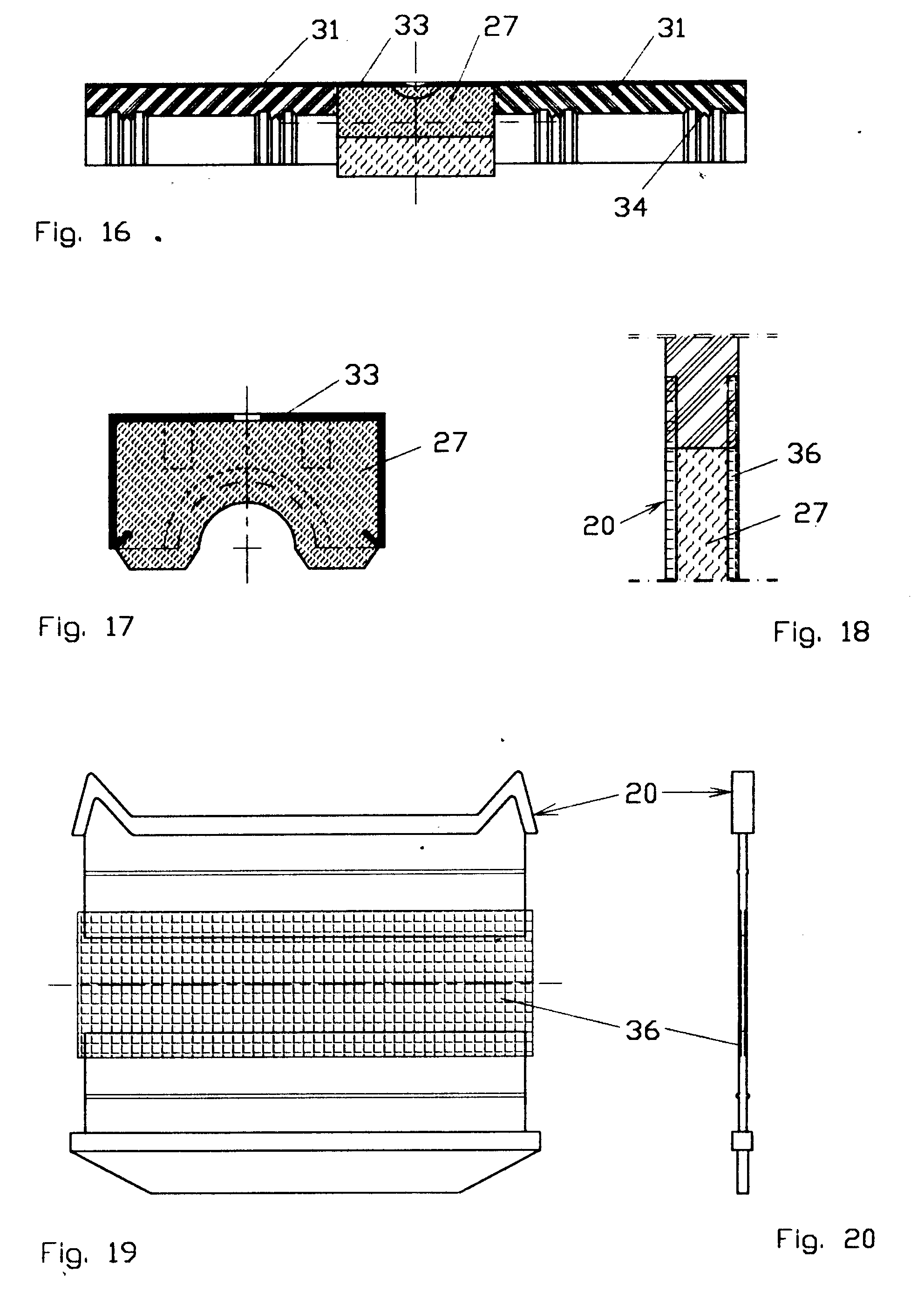 Patent EP0590410A1 - Device and modular system to pass cables ...