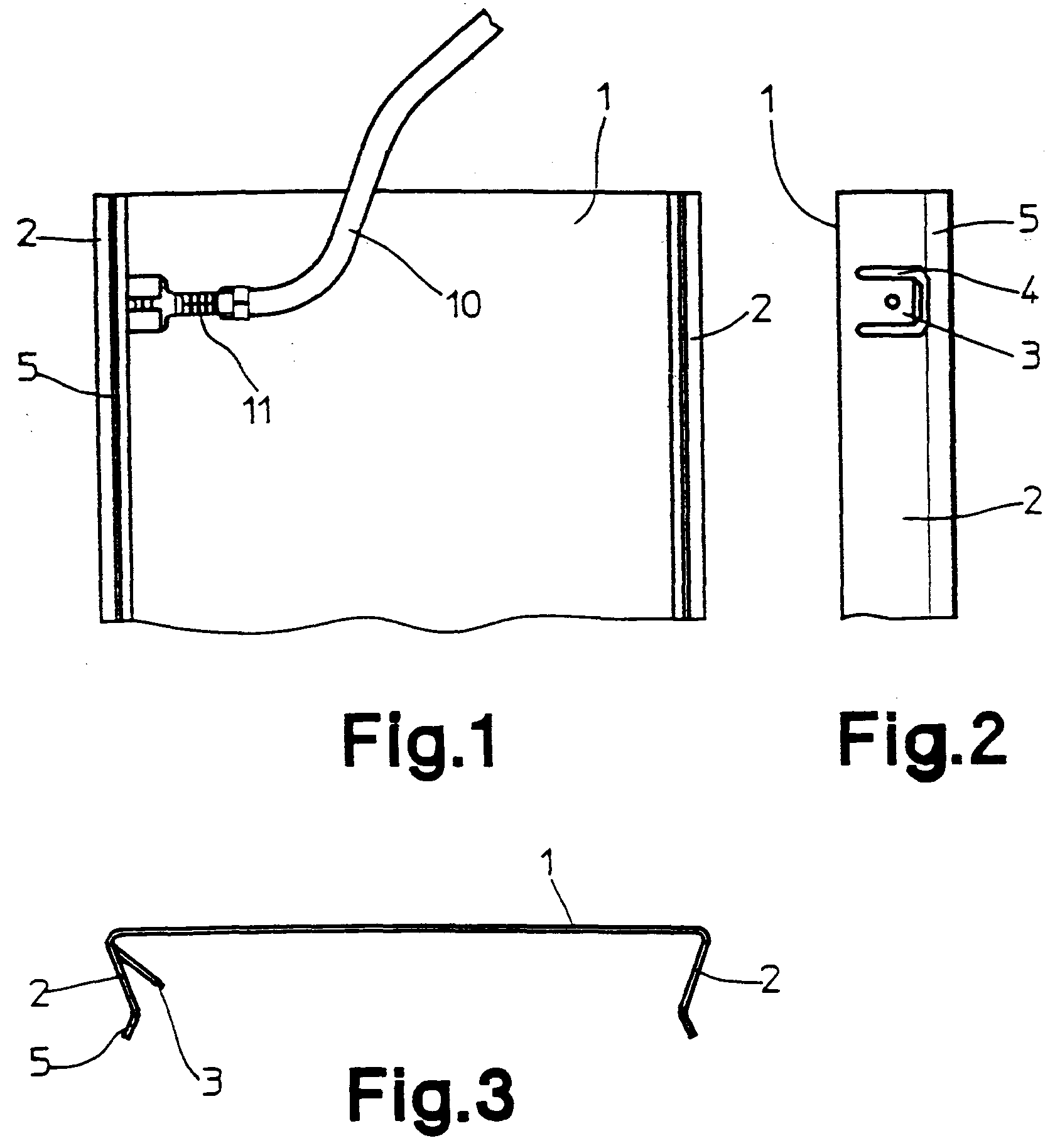 Patent EP0590616B1 - Deckel für Kabelkanäle - Google Patents