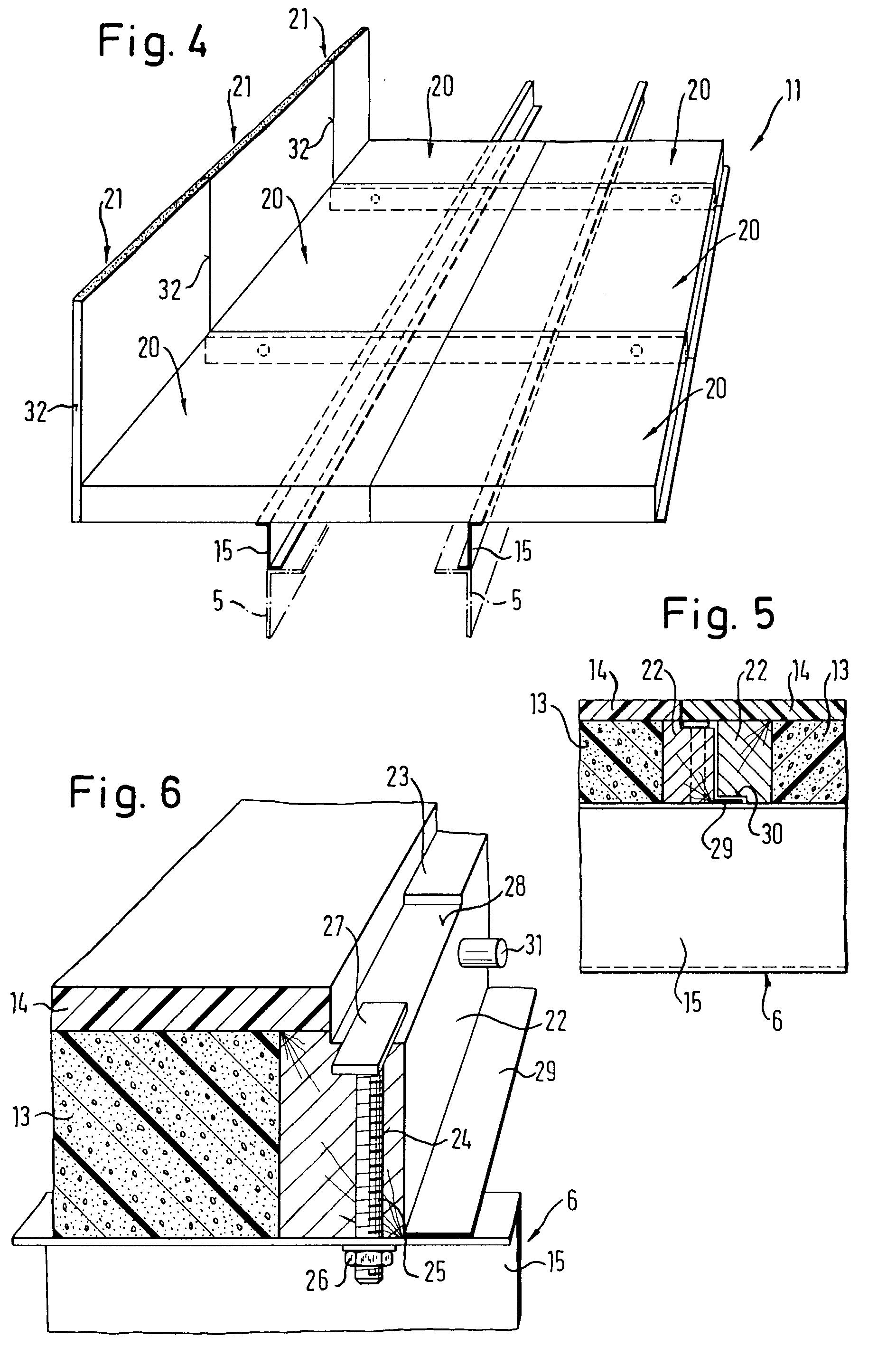 patente ep0607575a1 bausatz f r kofferaufbauten google patentes. Black Bedroom Furniture Sets. Home Design Ideas