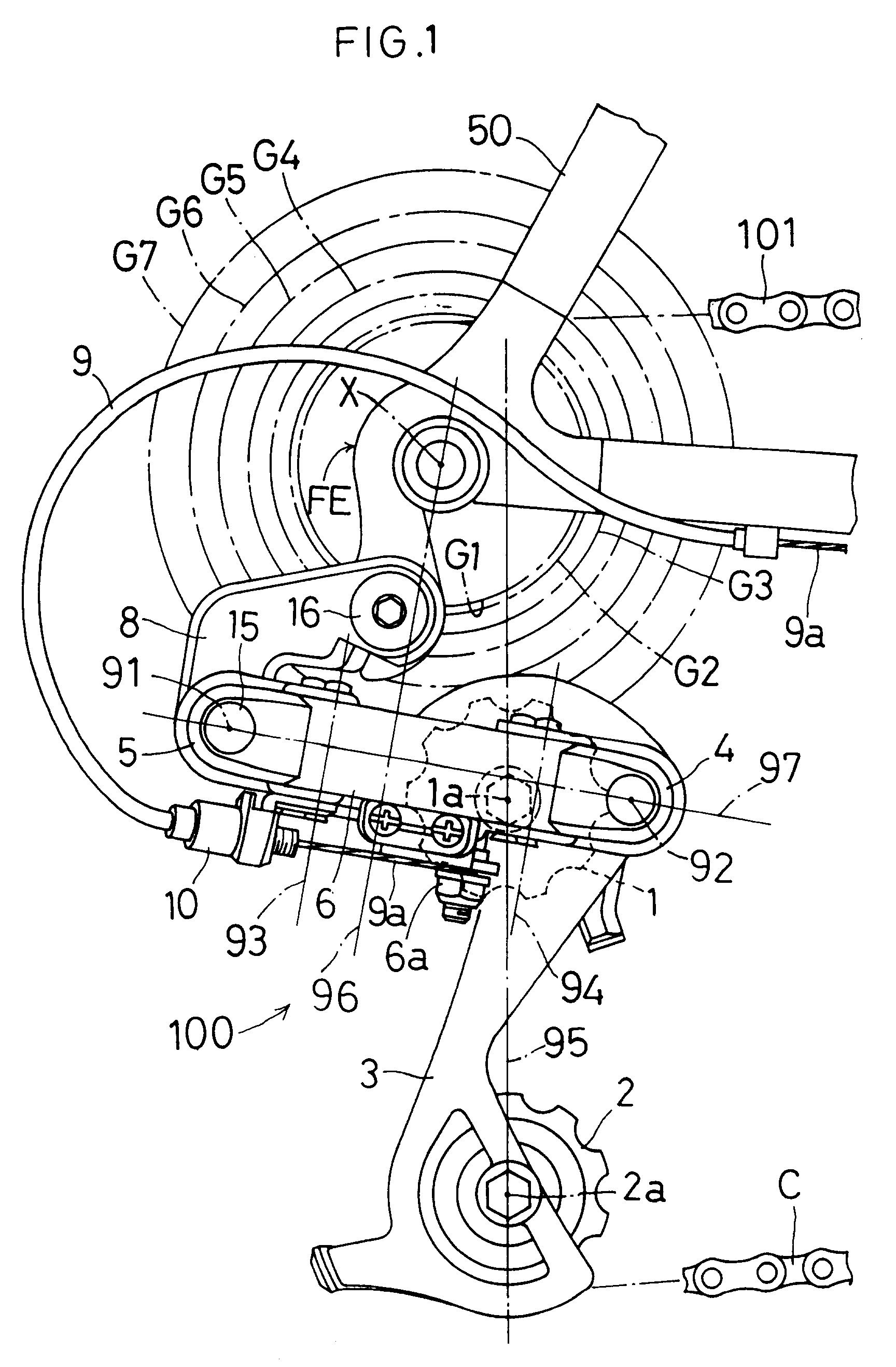 patent ep0609834a1 bicycle rear derailleur bracket. Black Bedroom Furniture Sets. Home Design Ideas
