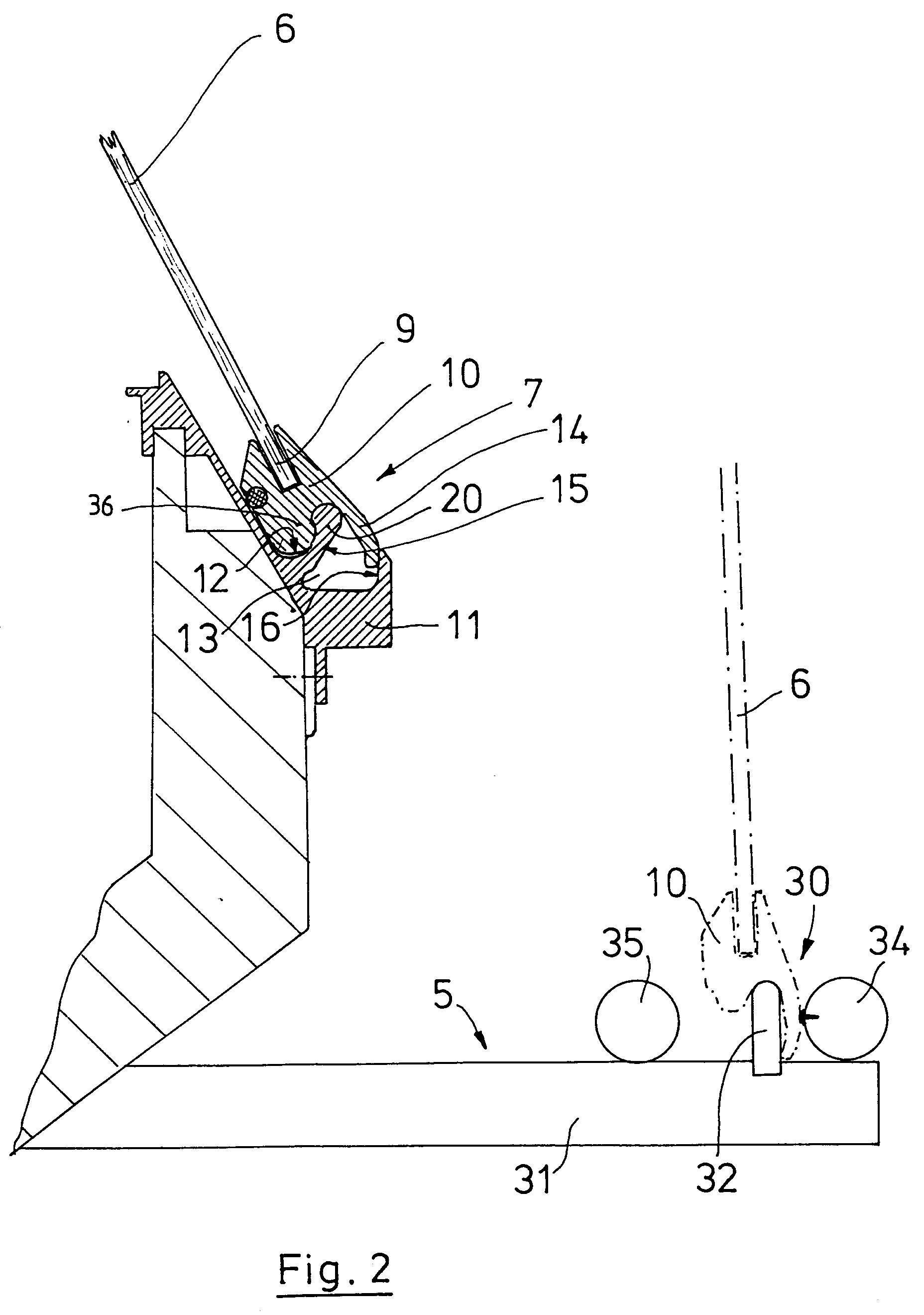 Patent EP0611539A2 - Sales counter - Google Patents