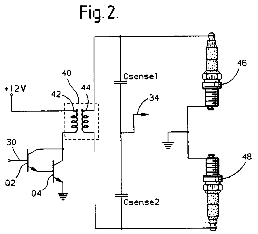 patent ep0619428a2 - engine position detection for a ... vw bug ignition switch wiring diagram 1968 beetle