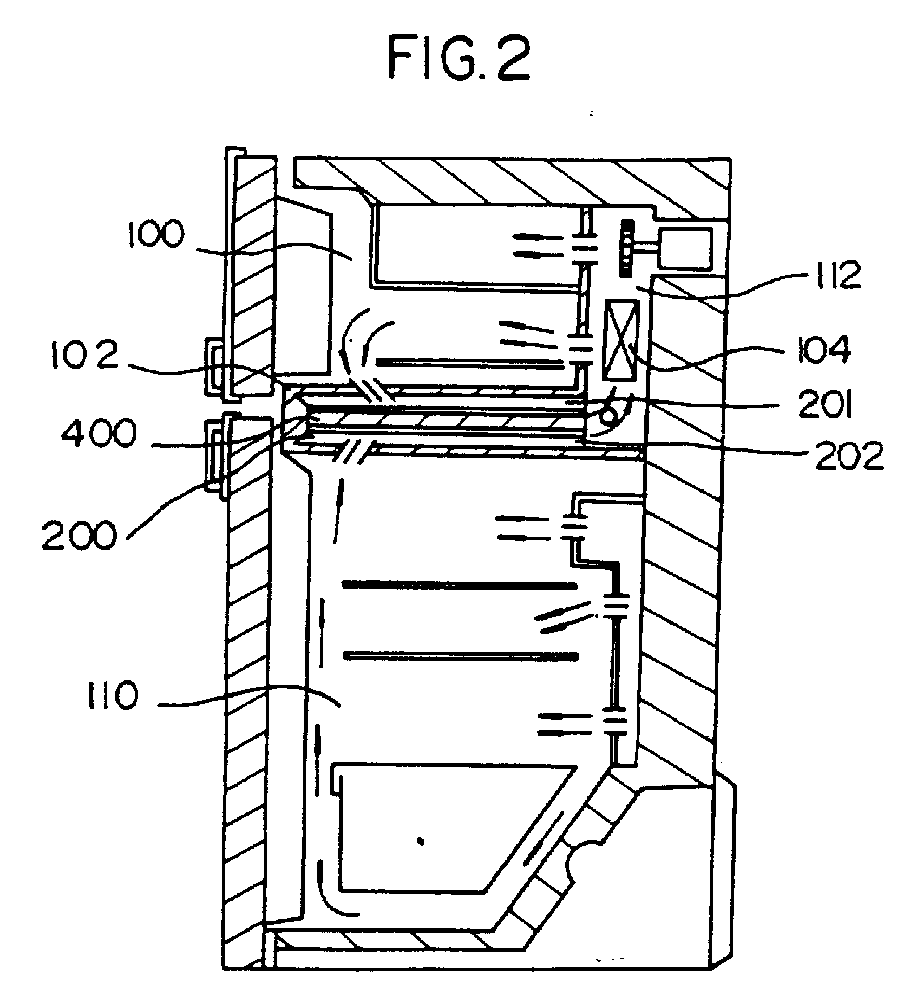 Ep0644385a1 - System For Reducing Frost In A Refrigerator