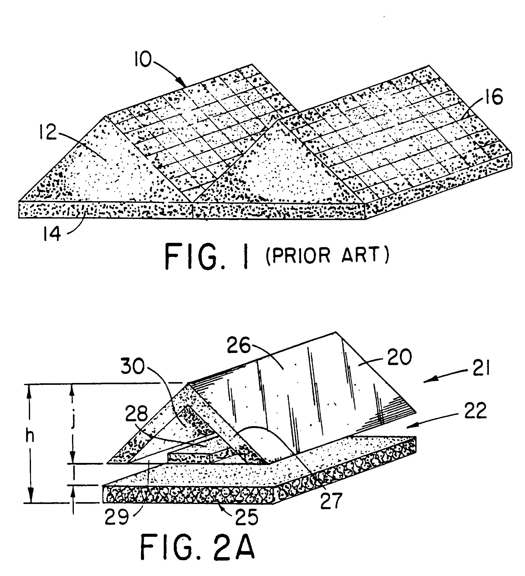 Patent EP B1 Chambre sourde et elements structurels